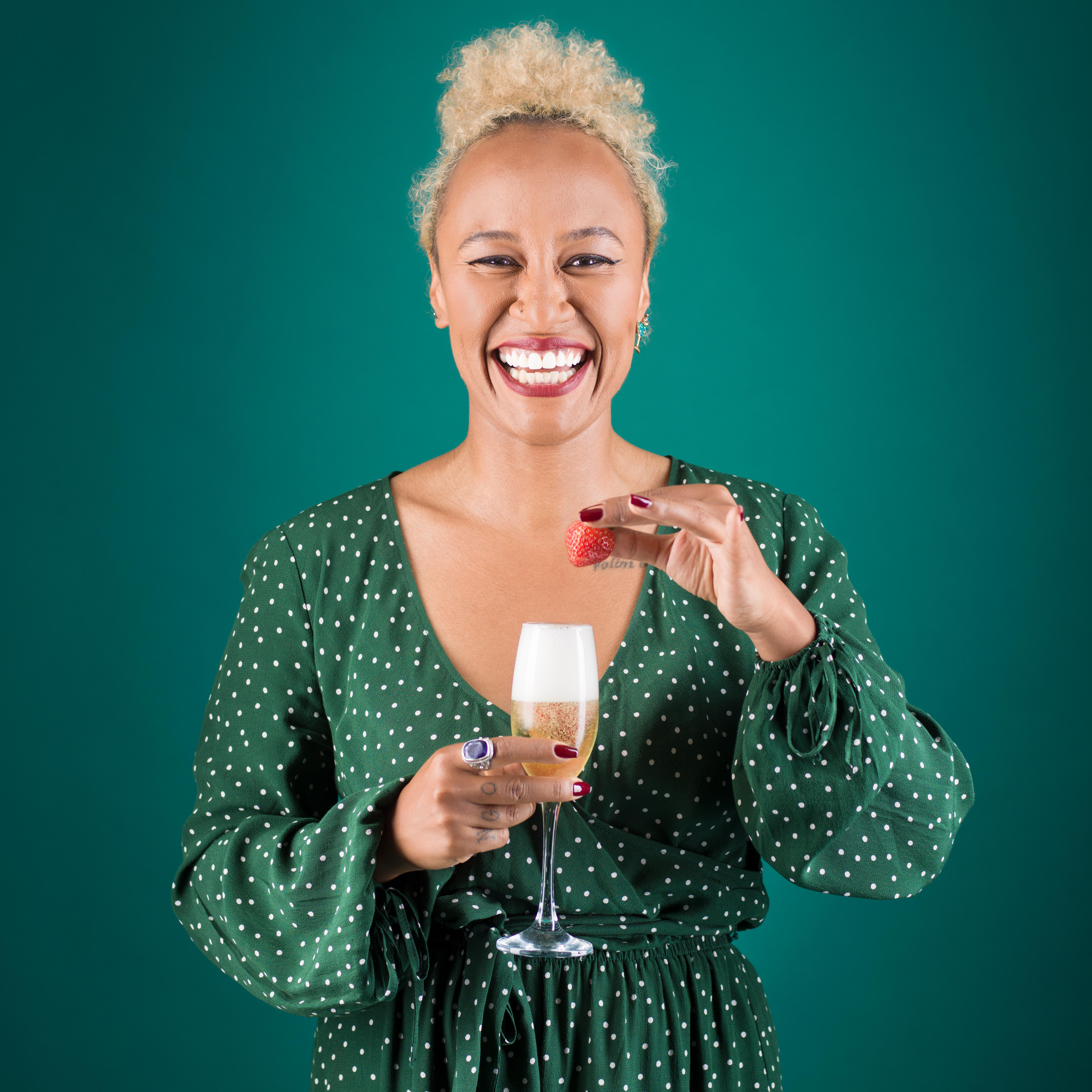 Emeli Sandé: 'I loved spaghetti so much as a child that I'd eat it from the garden drain'