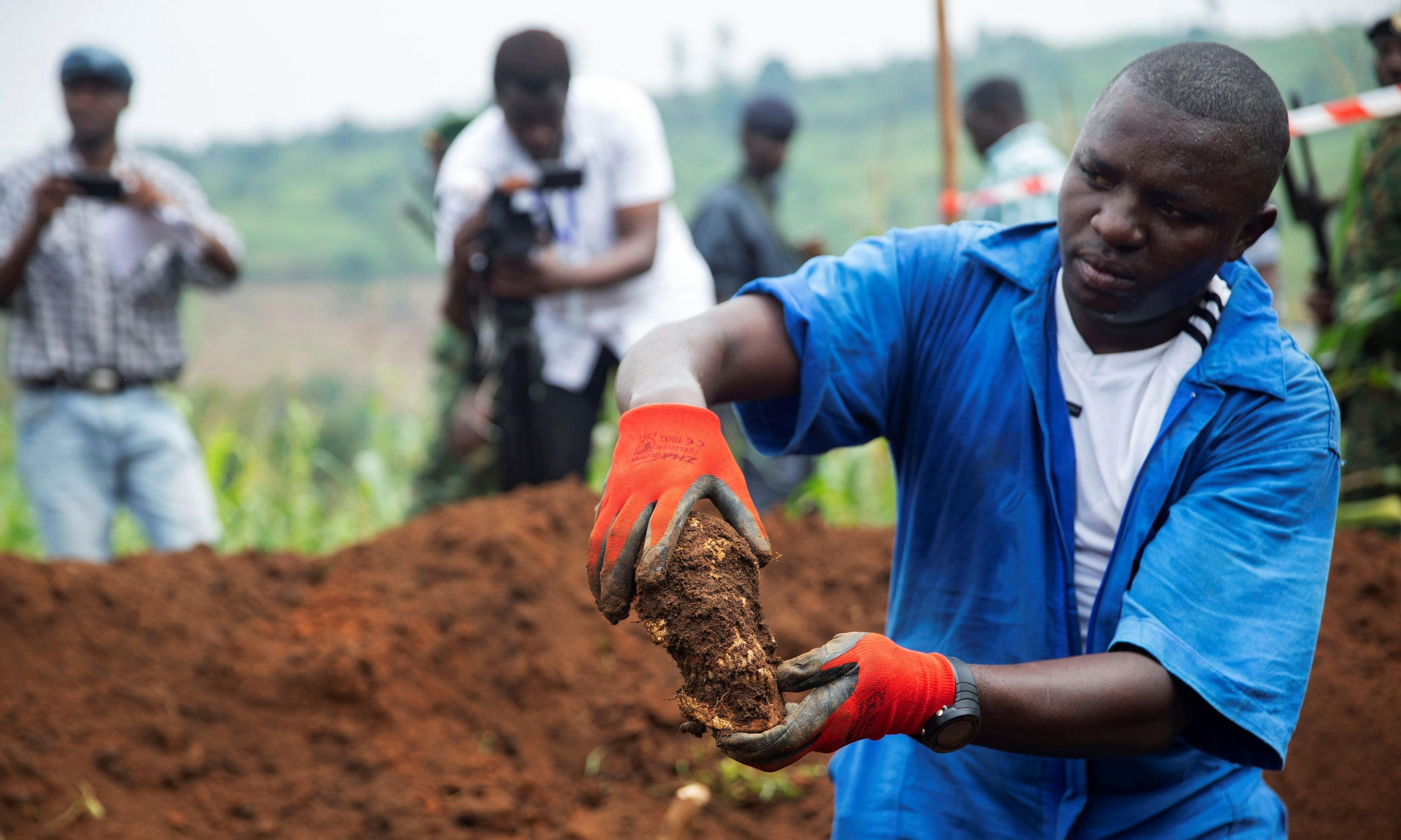 More than 6,000 bodies found in six mass grave sites in Burundi