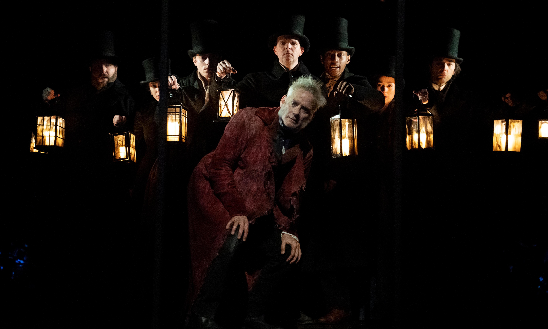A Christmas Carol review – Dickens on Broadway is a festive tearjerker