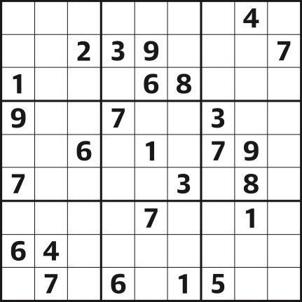 Sudoku 4,576 hard