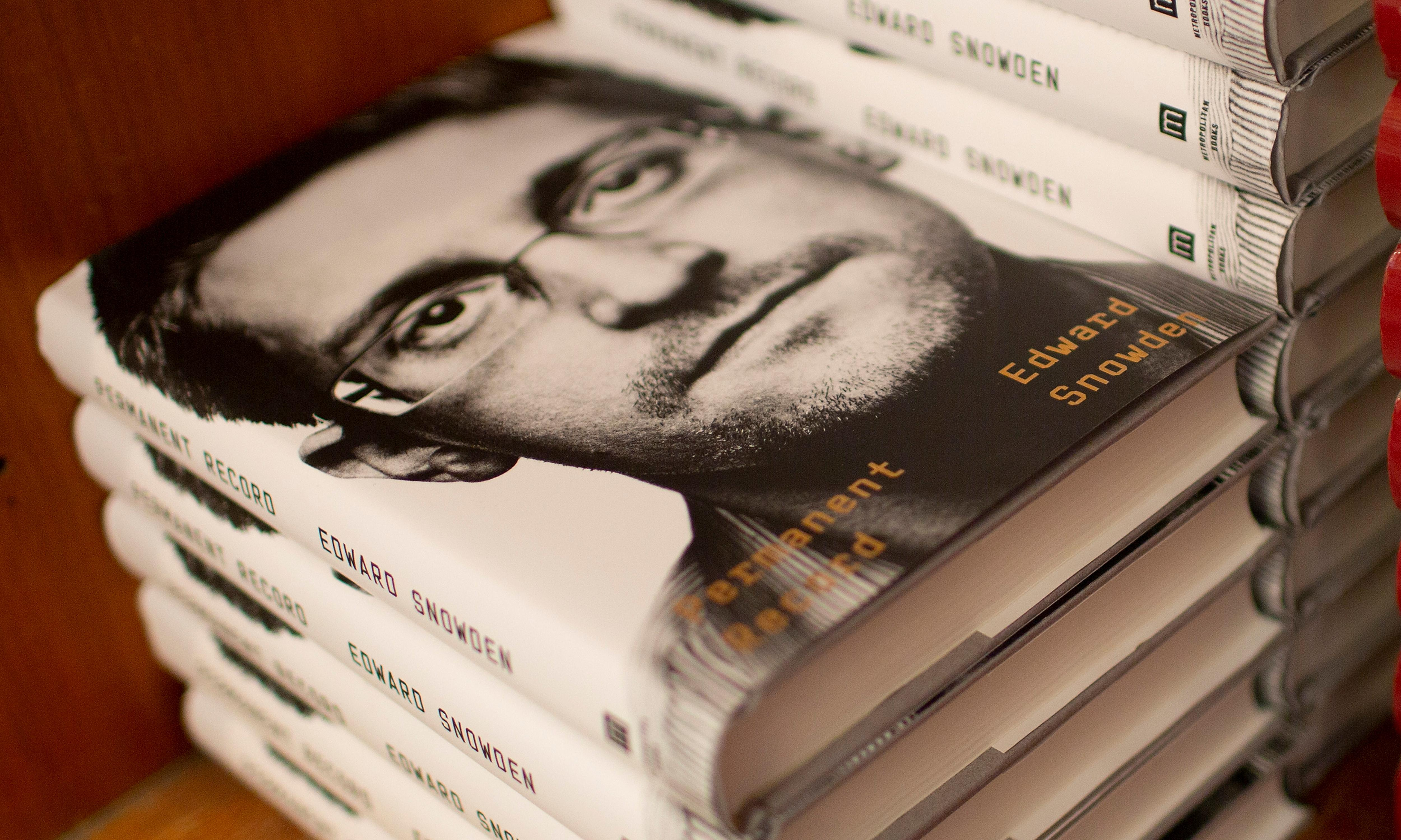 Edward Snowden says autobiography has been censored in China