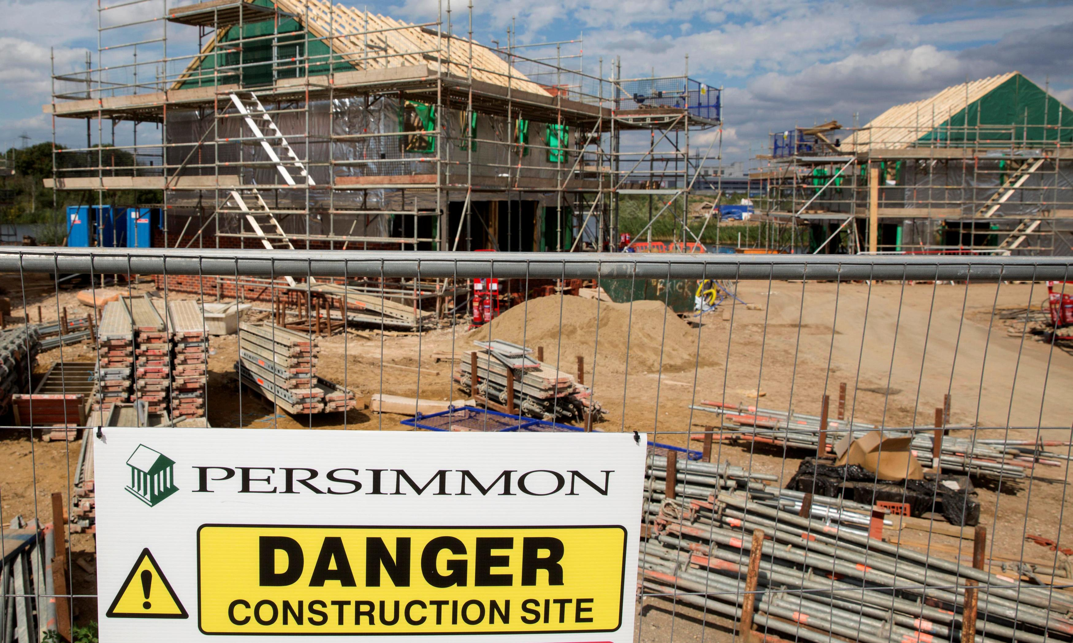 Persimmon tries to move itself on to firmer foundations