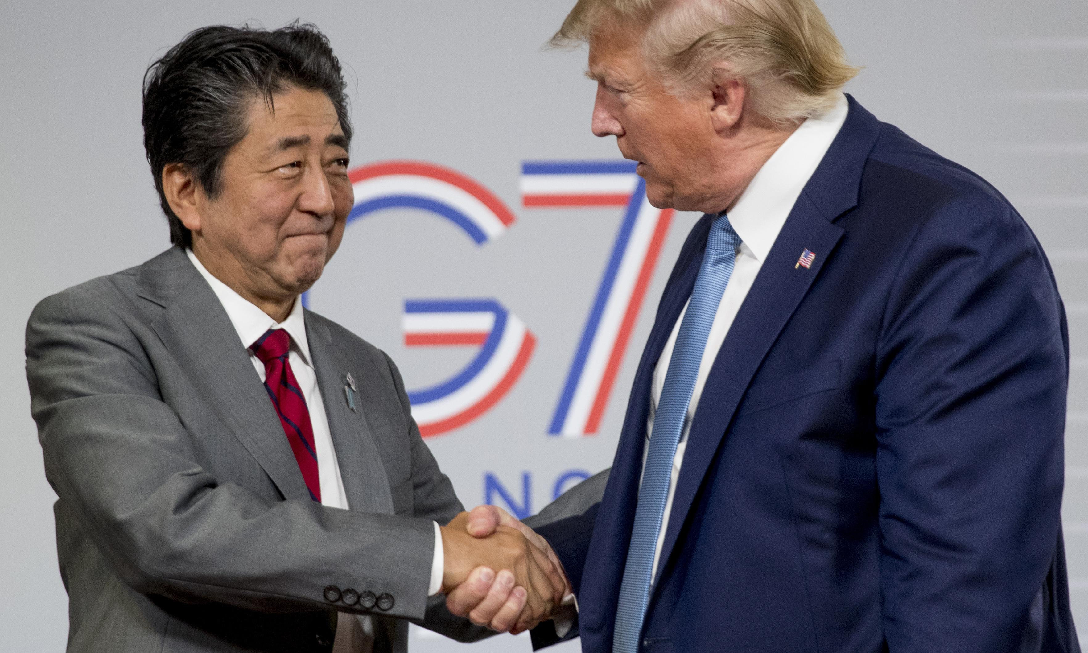 Trump and Abe herald US-Japan deal in shadow of China trade war