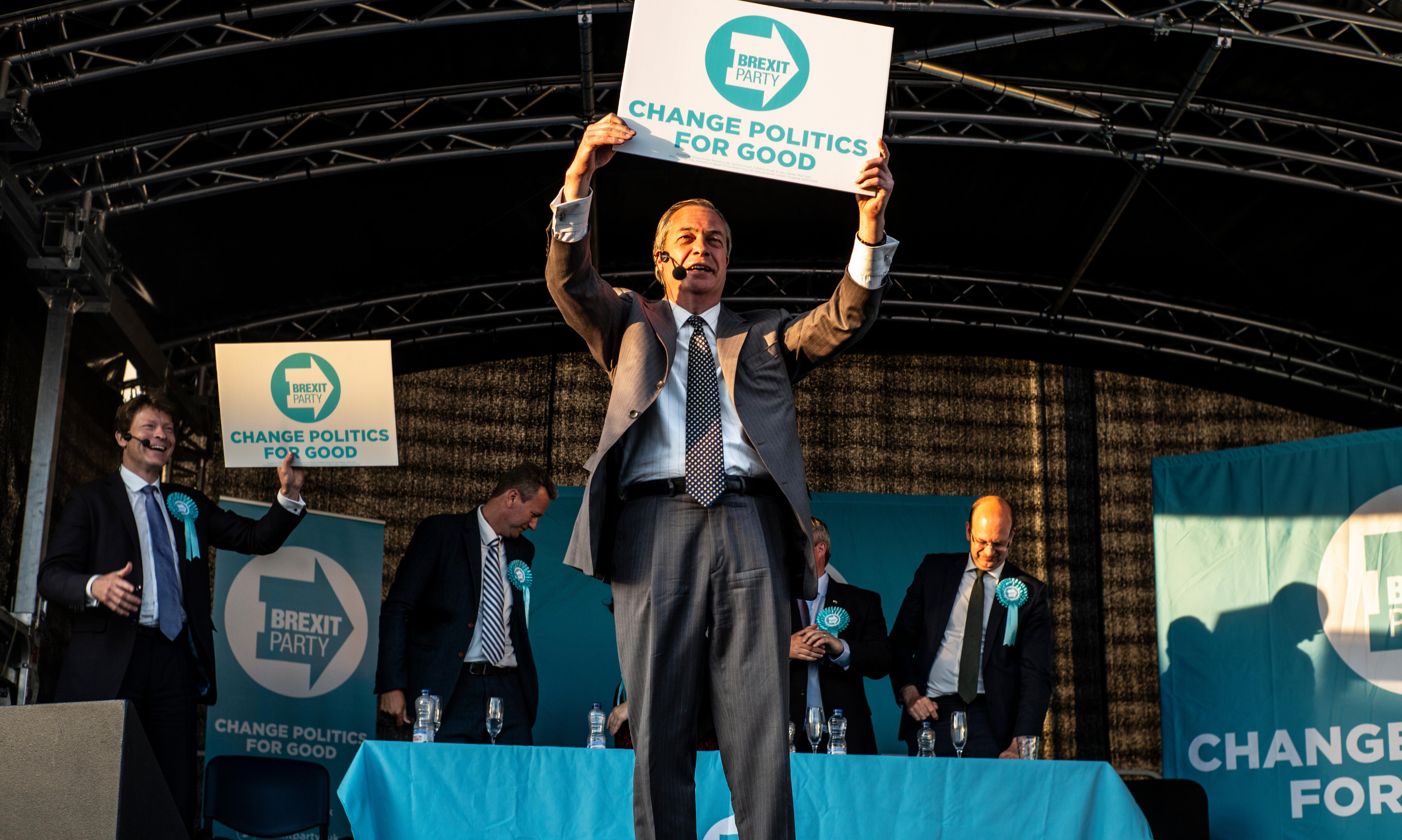 Rage, rapture and pure populism: on the road with Nigel Farage