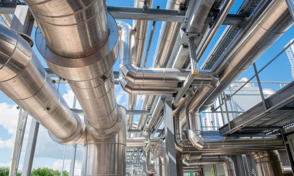 Ørsted hydrogen plant creating electricity