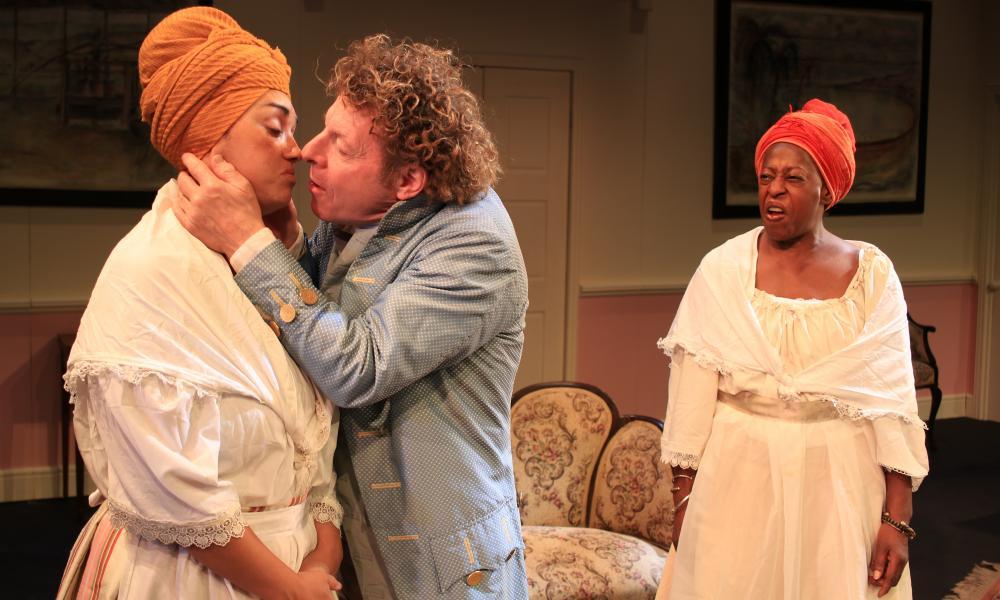 Natasha Springer, Robert Maskell and Judith Jacob in White Witch.