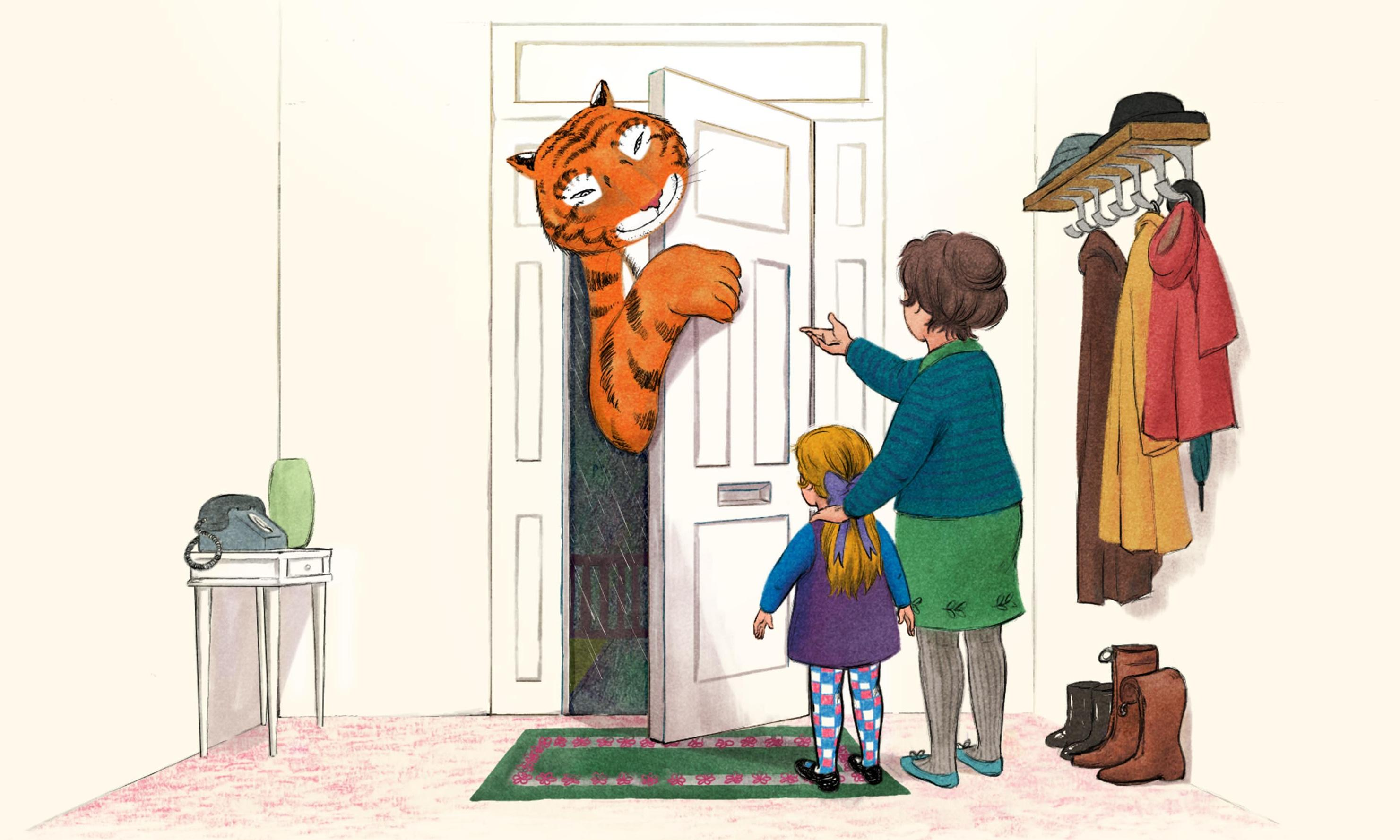 The tiger who came to TV: Animated classic tops children's festive listings