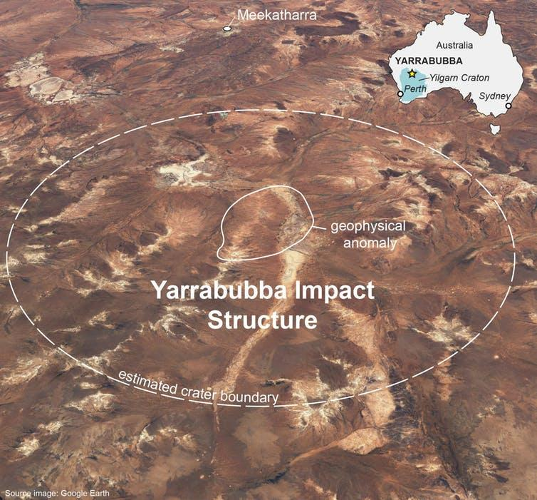 The world's oldest asteroid strike in Western Australia may have triggered a global thaw