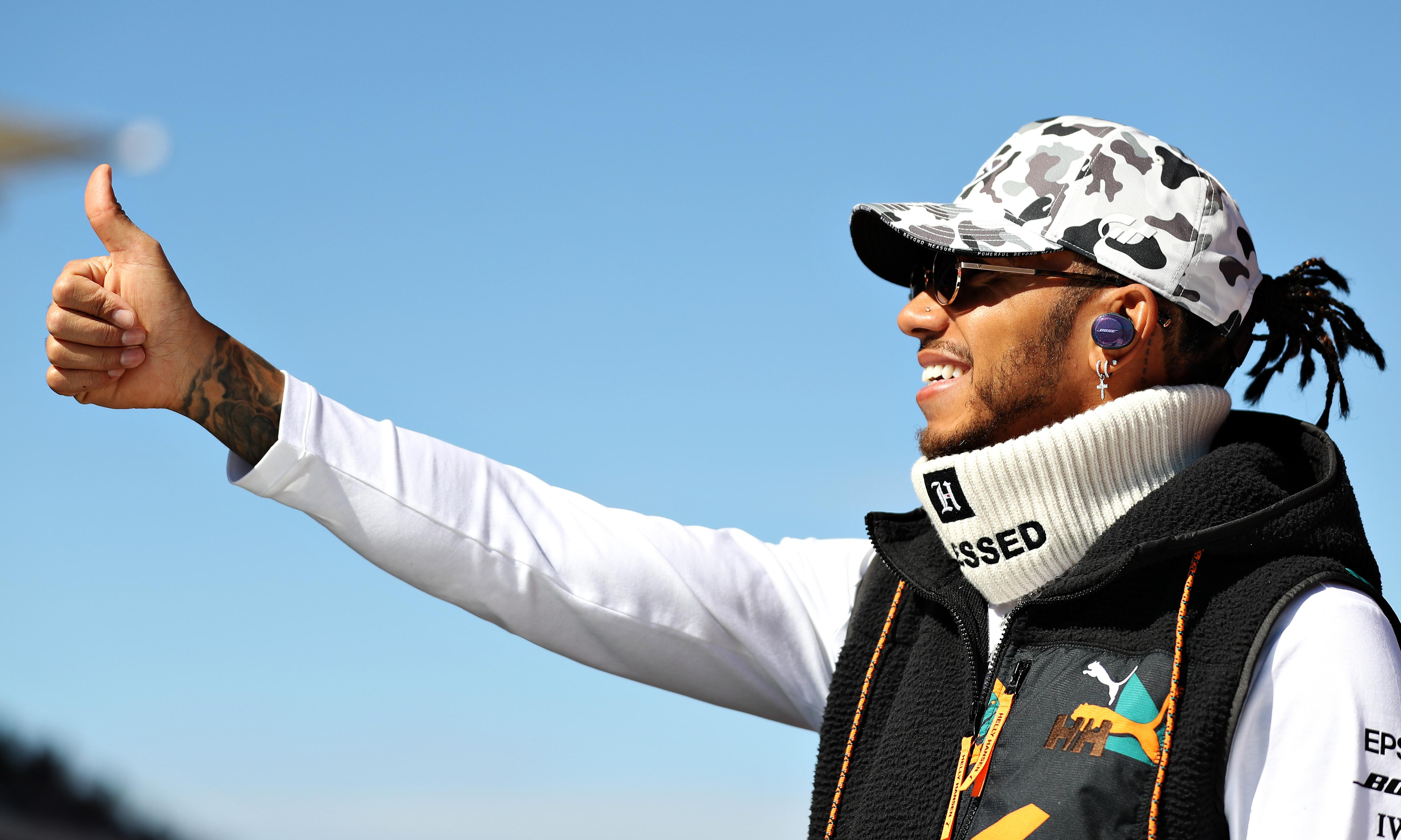 Six-times world champion Lewis Hamilton is the best driver I have seen