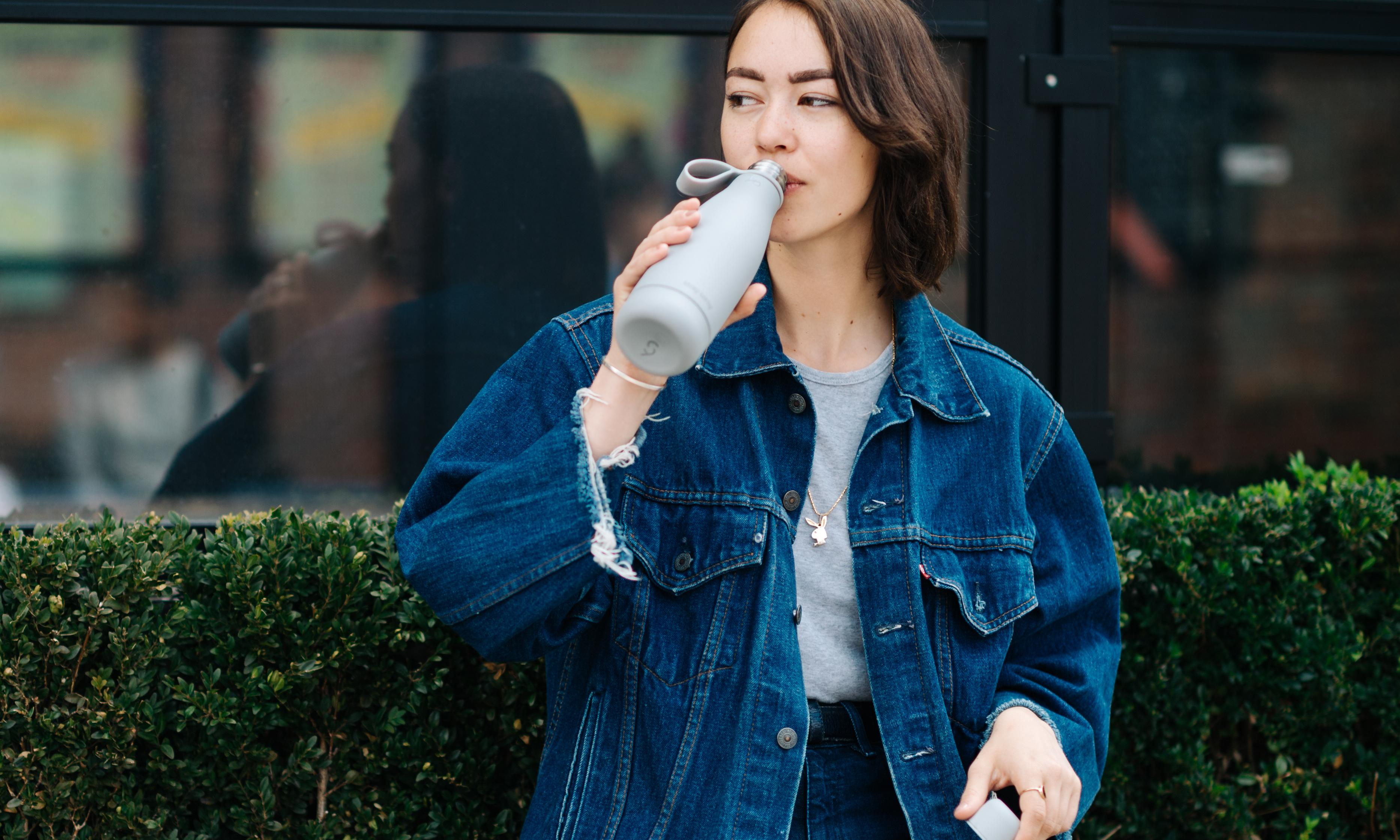 That's not just a water bottle – it's a status symbol