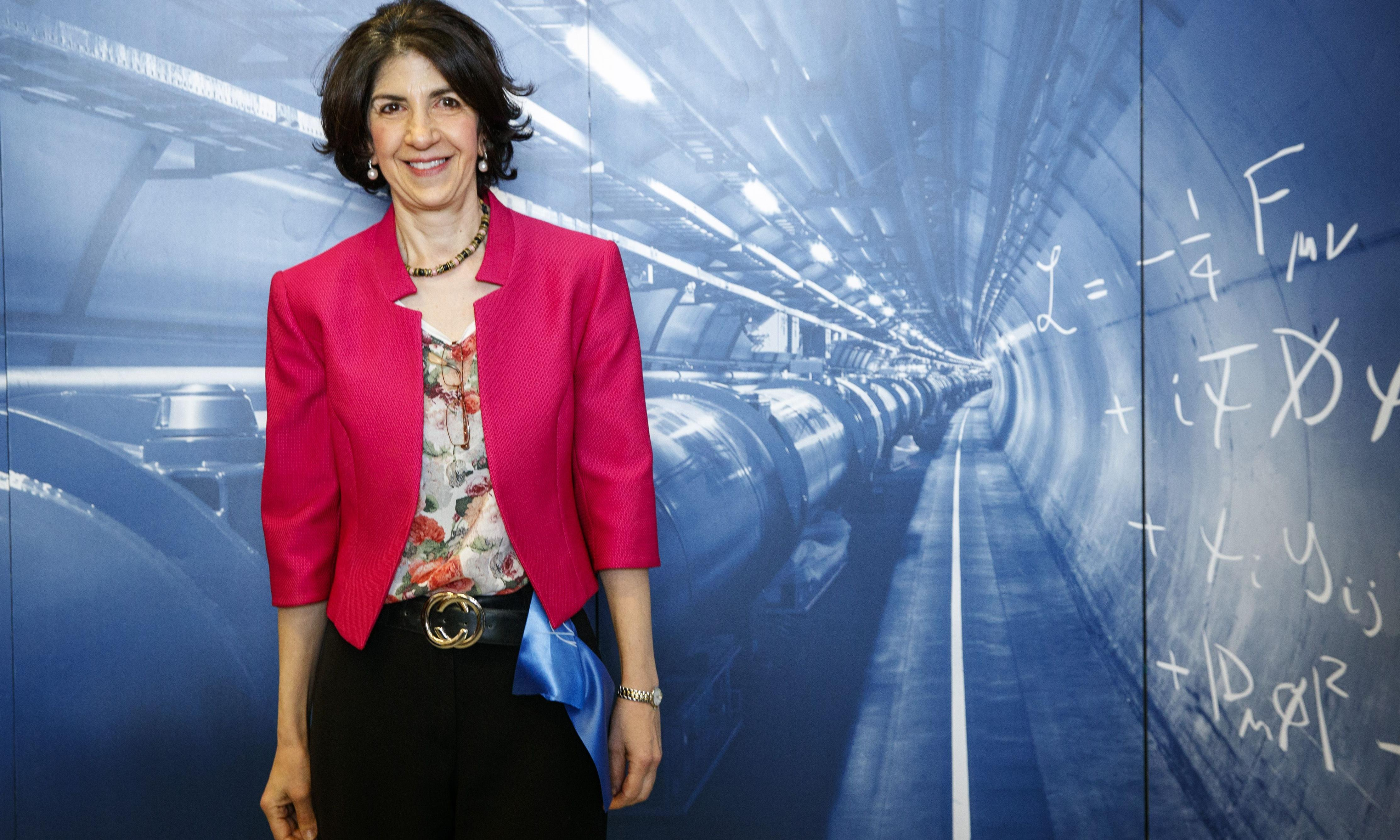 Fabiola Gianotti: 'There is nothing more rewarding than discovering a new particle'