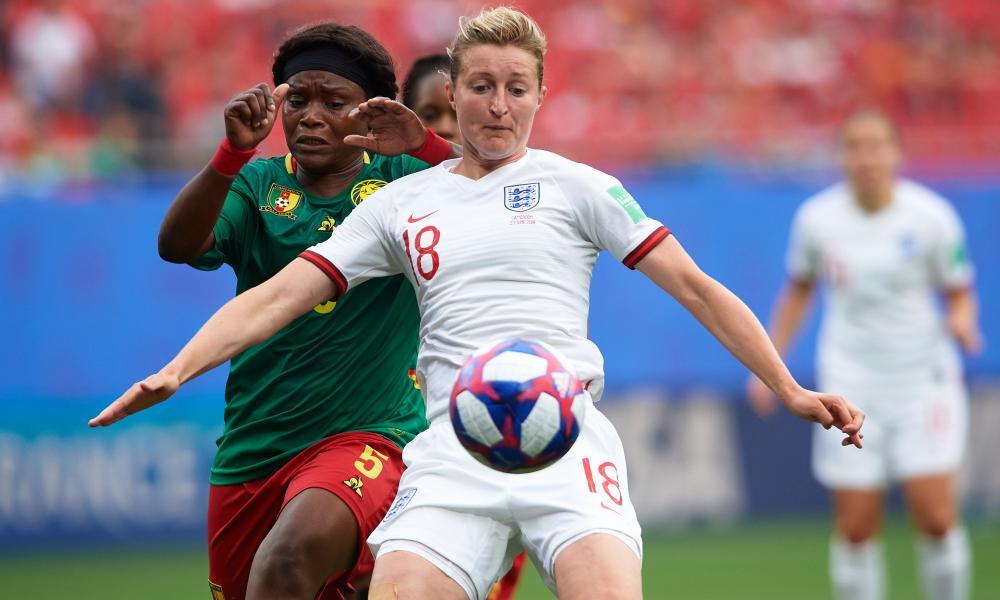 Ellen White has been described as 'a Van Nistelrooy, a Shearer, an Owen' by England manager Phil Neville.