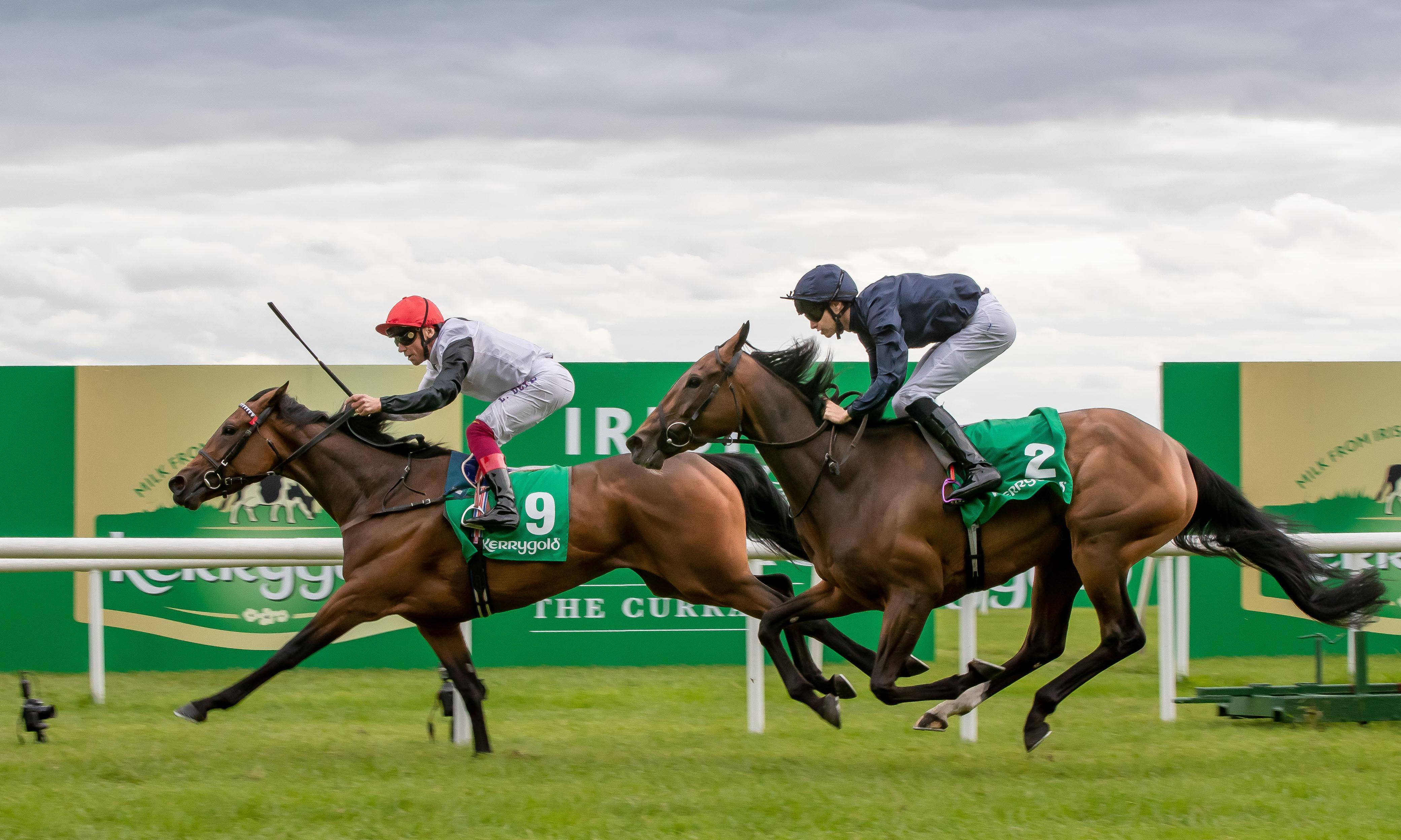 Frankie Dettori and Star Catcher shine brightest to win Irish Oaks