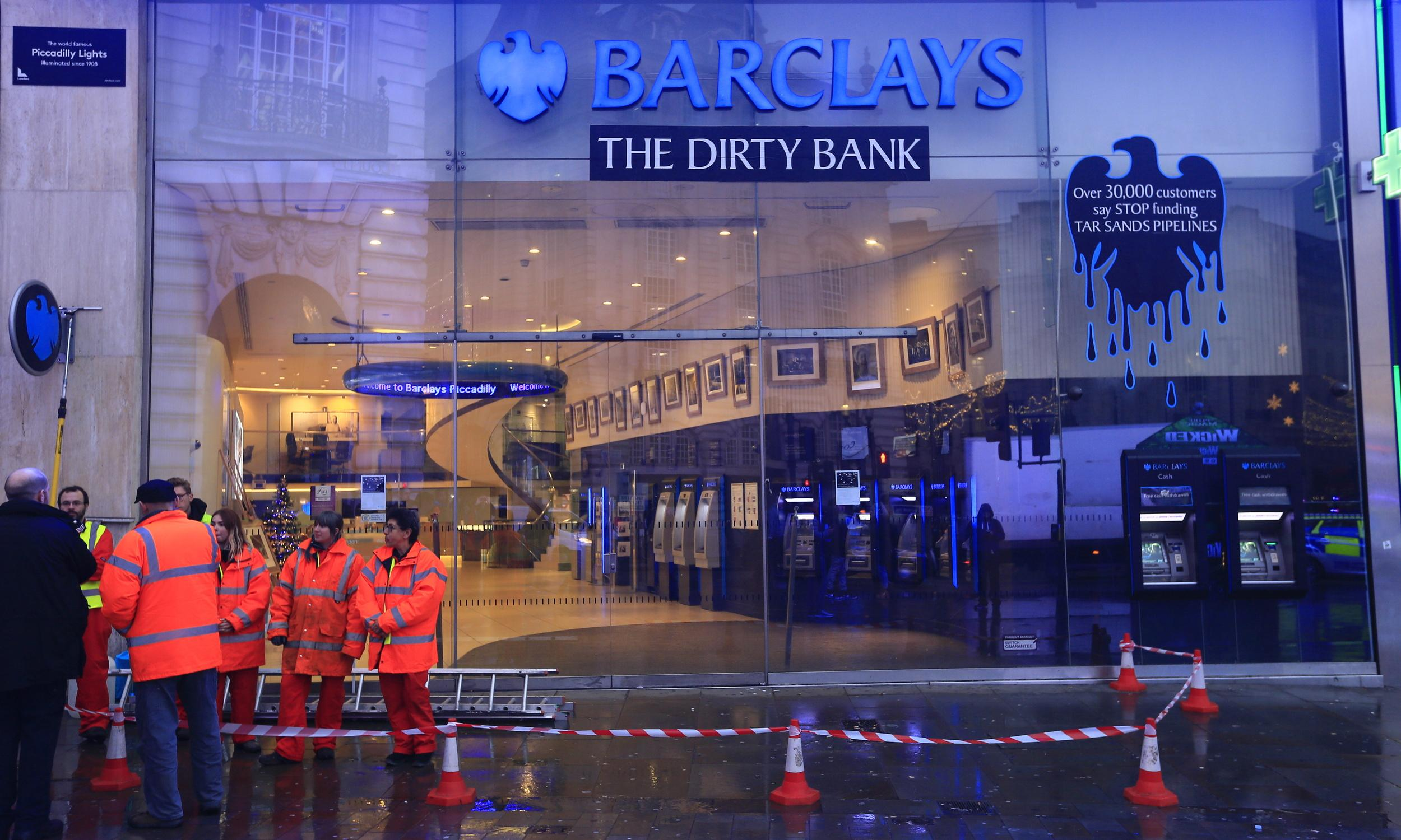 Barclays customers in switch threat over tar sands investment