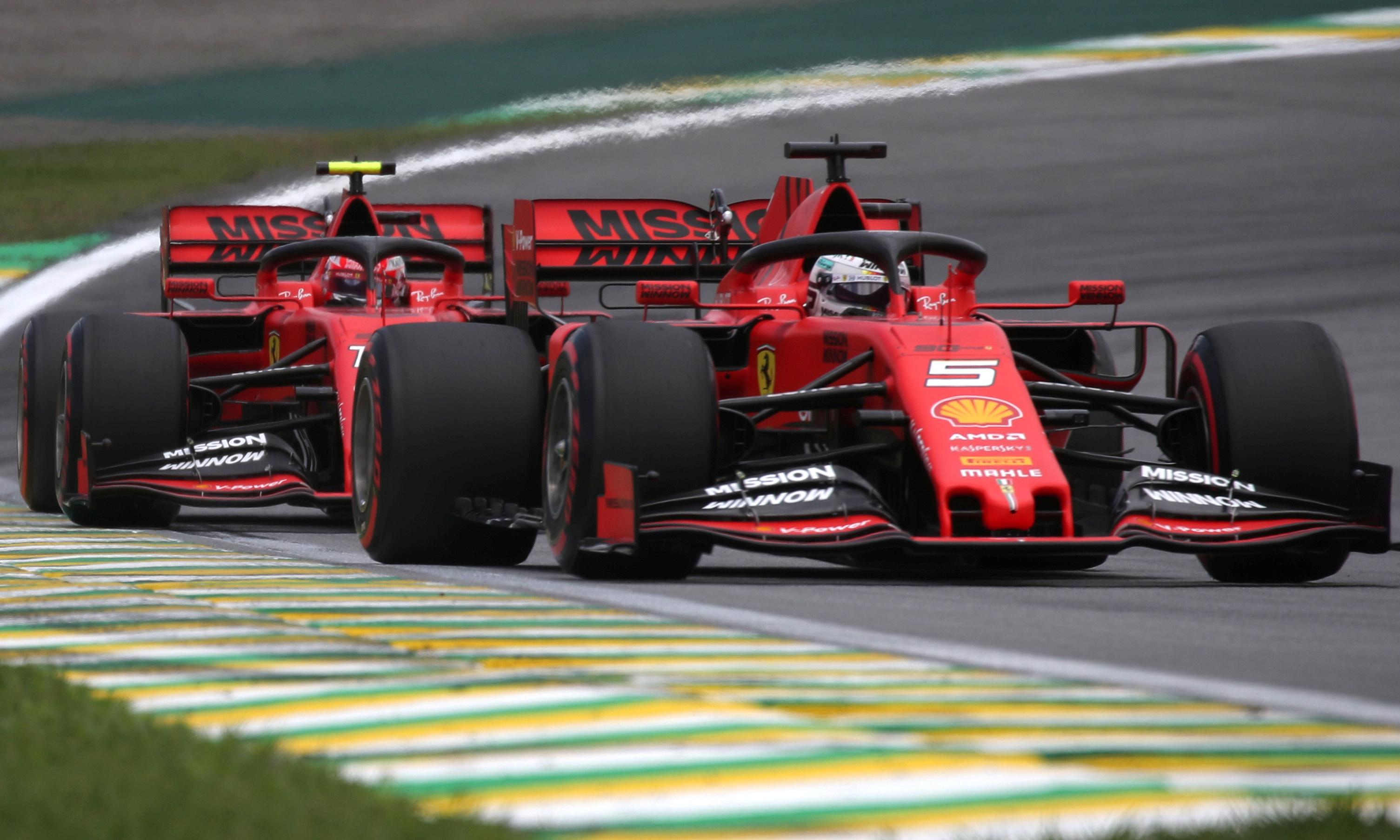 Charles Leclerc says Sebastian Vettel knows he was in the wrong for F1 crash