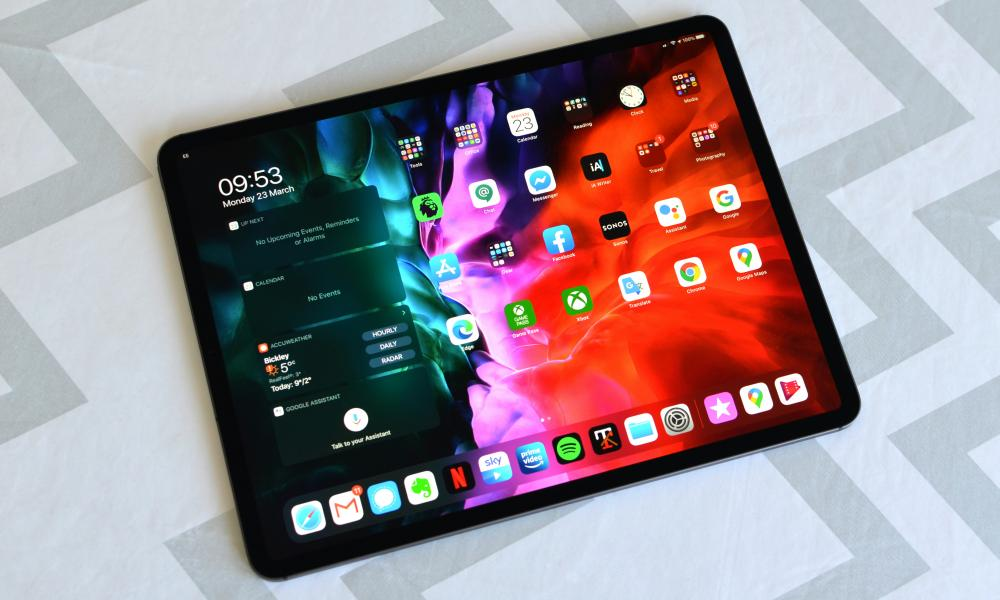 Apple 12.9in iPad Pro review 2020