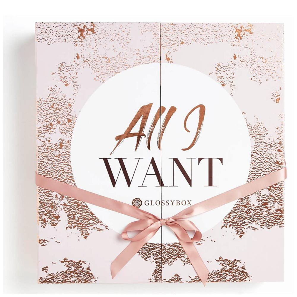 Glossybox's 'All I Want' calendar 2018.