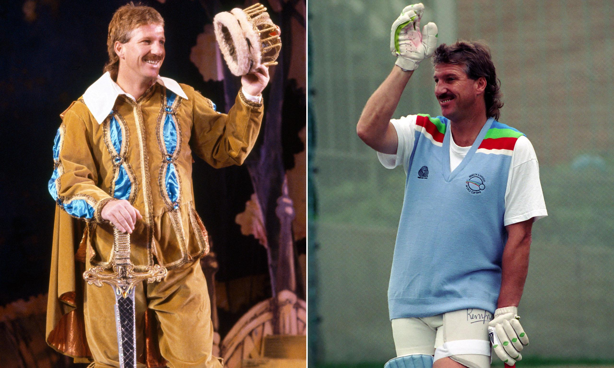 When Ian Botham played king at the panto and the 1992 Cricket World Cup