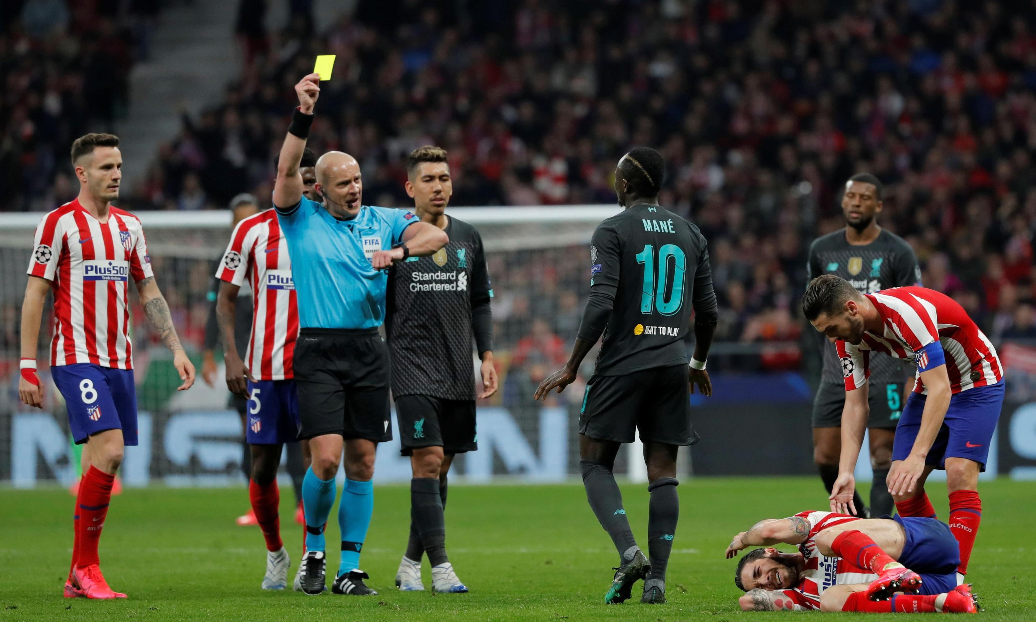 Liverpool's Klopp right to take Mané off amid Atlético antics, Gomez says