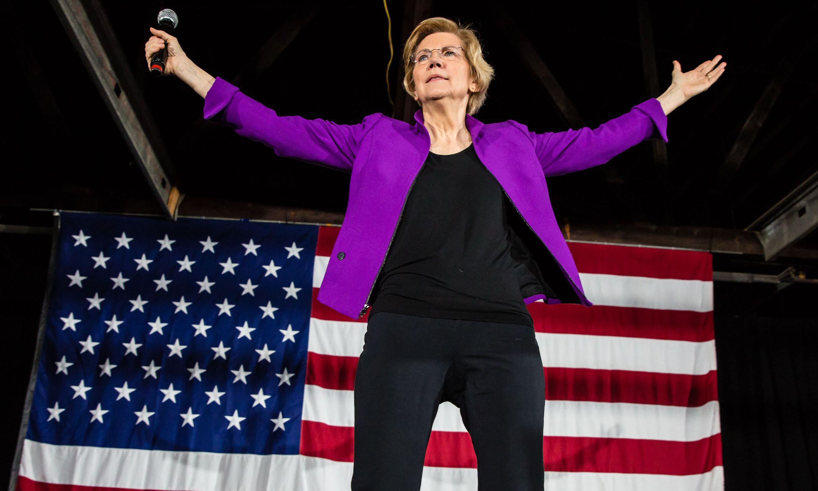 Elizabeth Warren is the intellectual powerhouse of the Democratic party