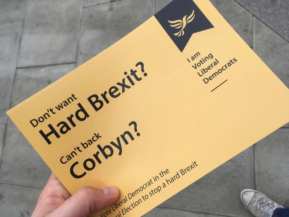'this is a pretty smart position for the Lib Dems to be taking'.