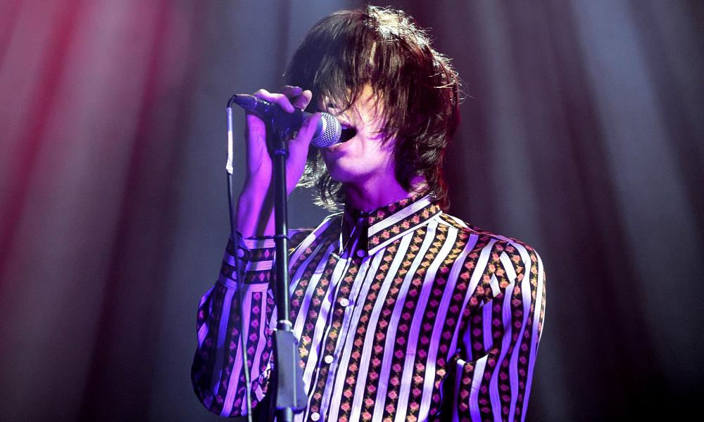 Not your average indie band … Faris Badwan of the Horrors.