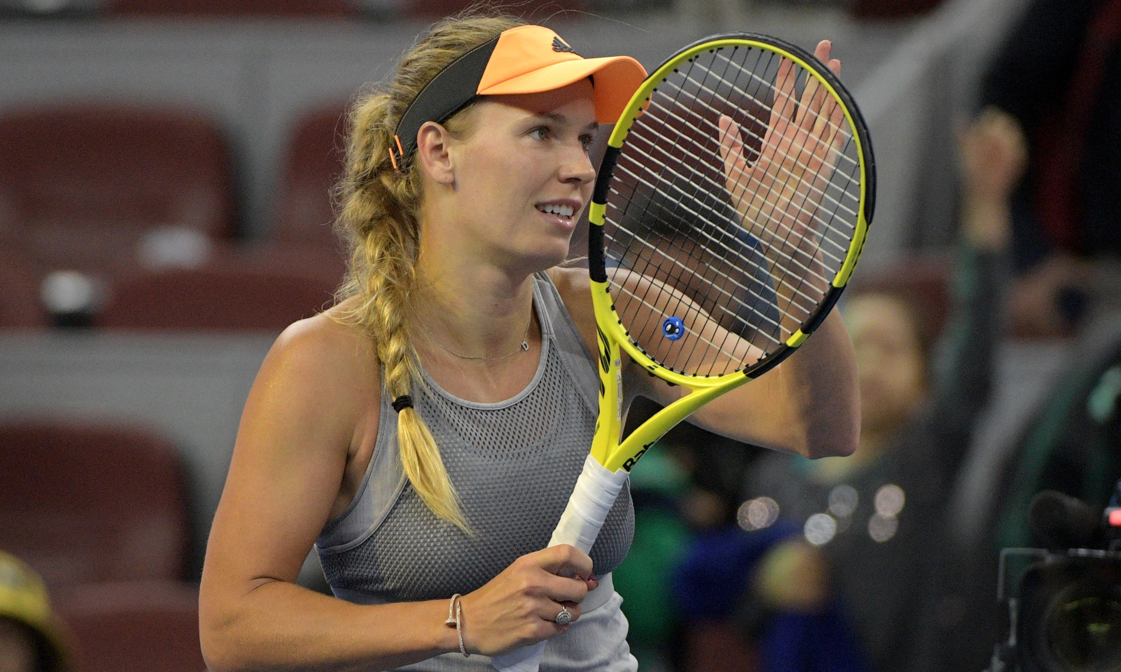 Wozniacki wants last hurrah after bravery loses out to brittleness