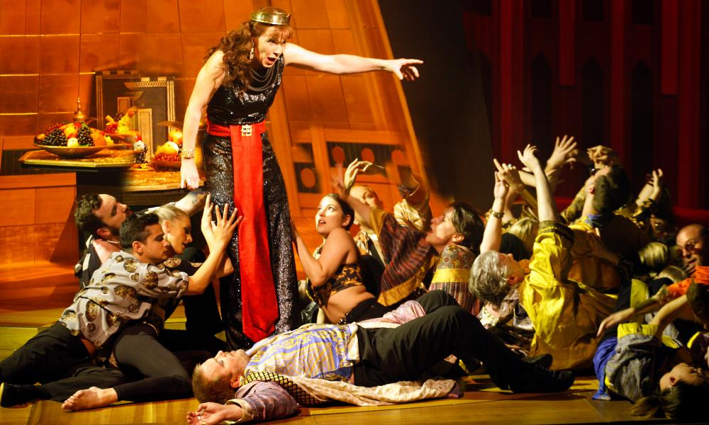 Claire Booth as Nitocris, with the Sixteen and the Grange Festival Choruses Handel's Belshazzar