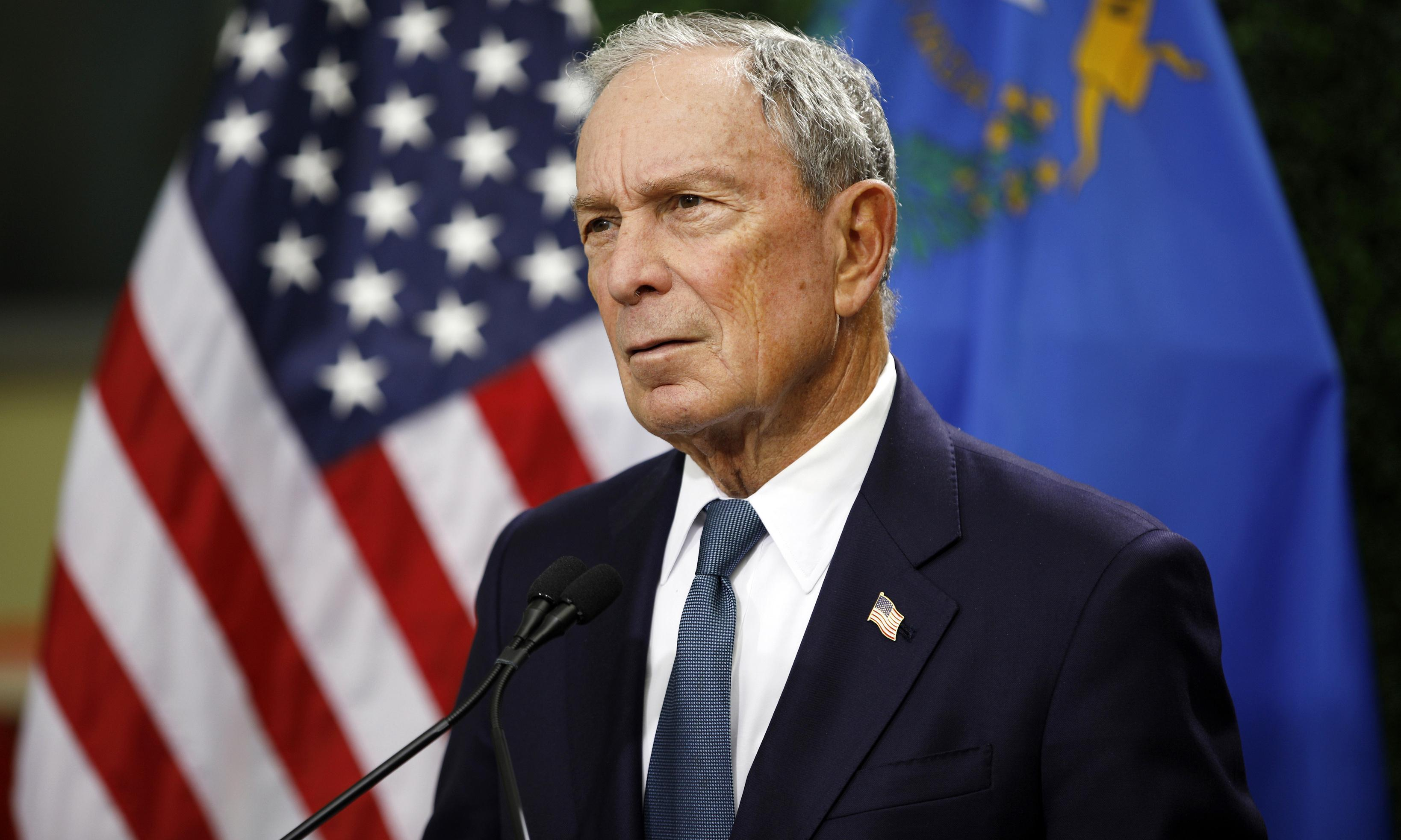 Michael Bloomberg: billionaire eyes centre lane in Democratic presidential race