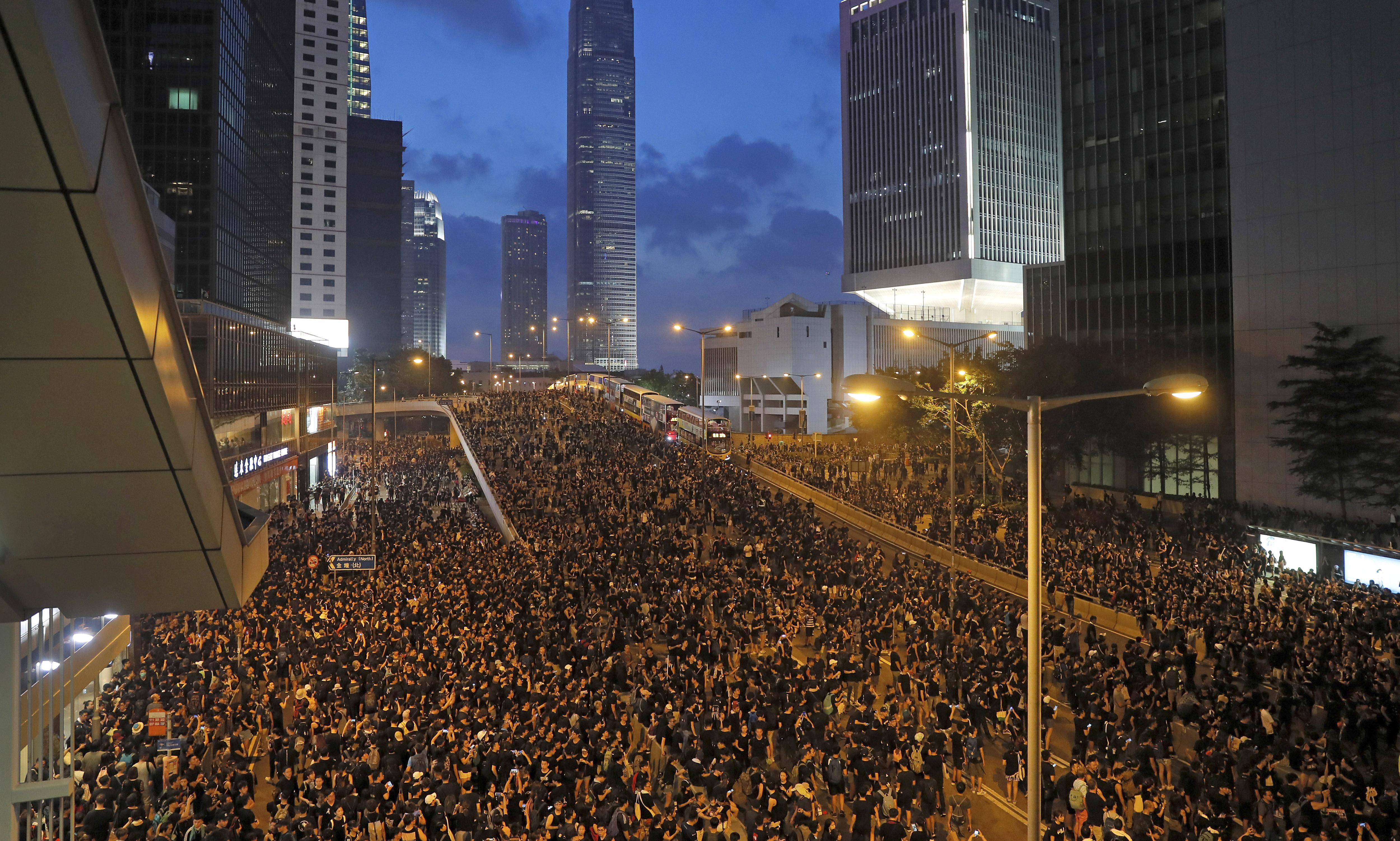 Fears Hong Kong protests could turn violent amid calls to 'escalate action'