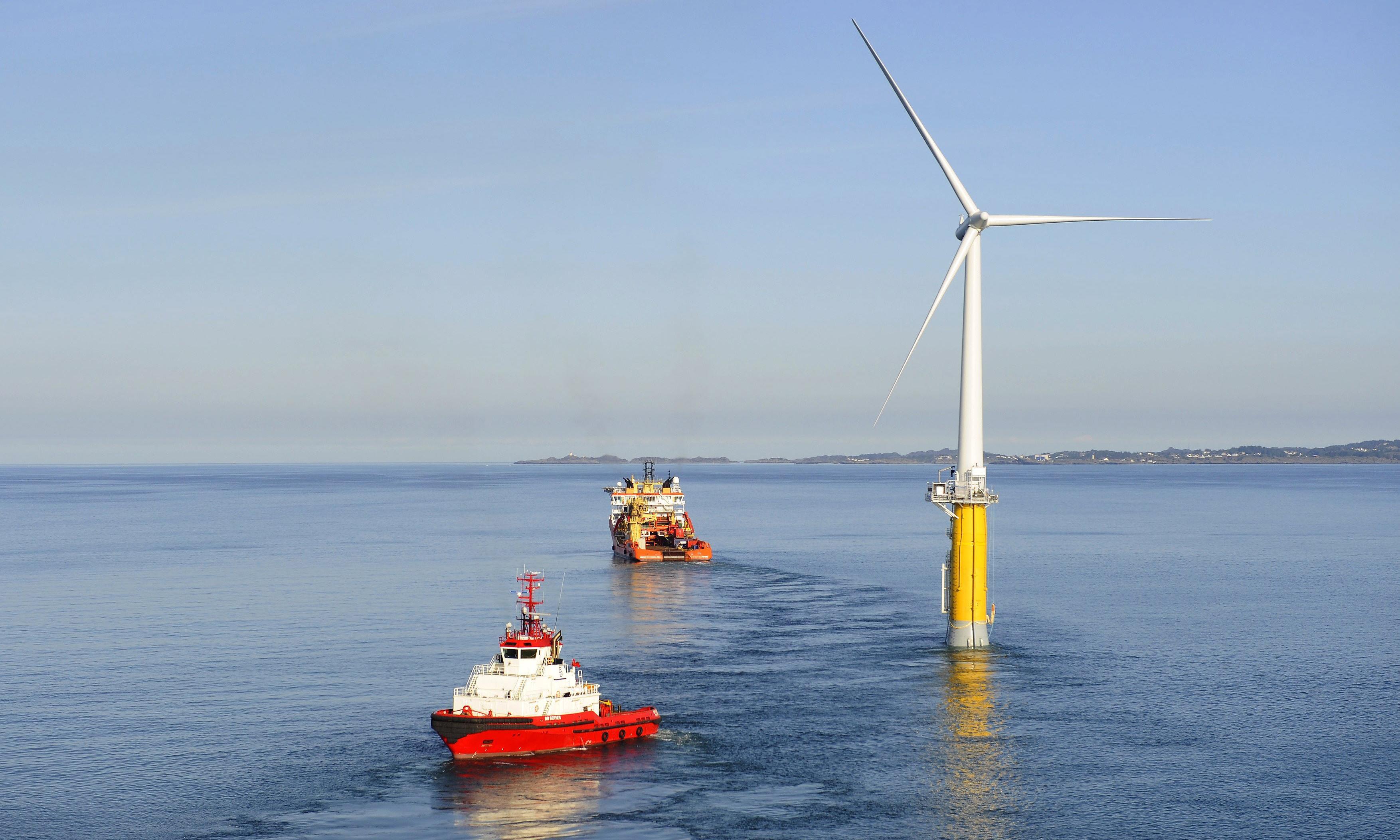 Offshore windfarm development: bigger, better, cheaper