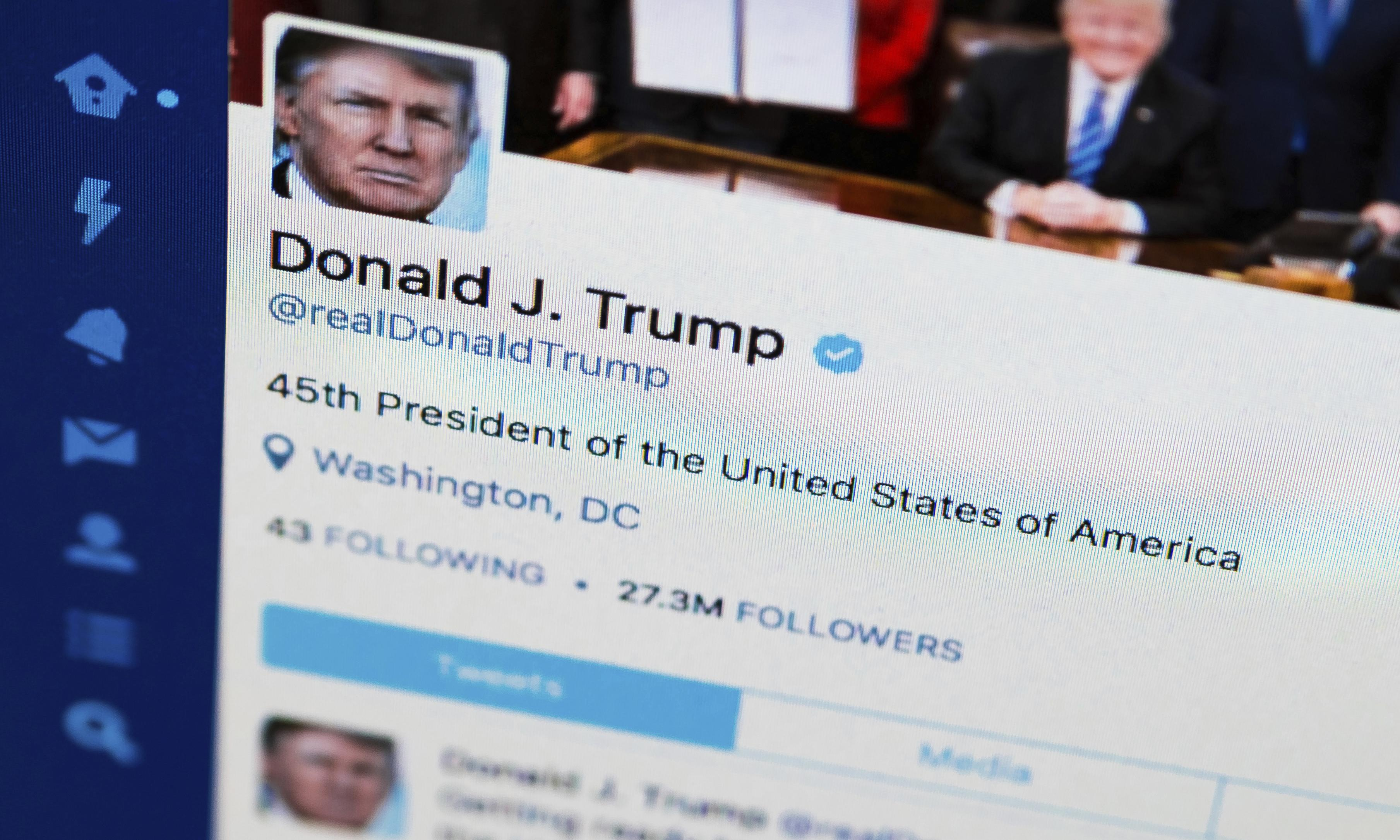 Trump violated US constitution by blocking critics on Twitter, federal court rules