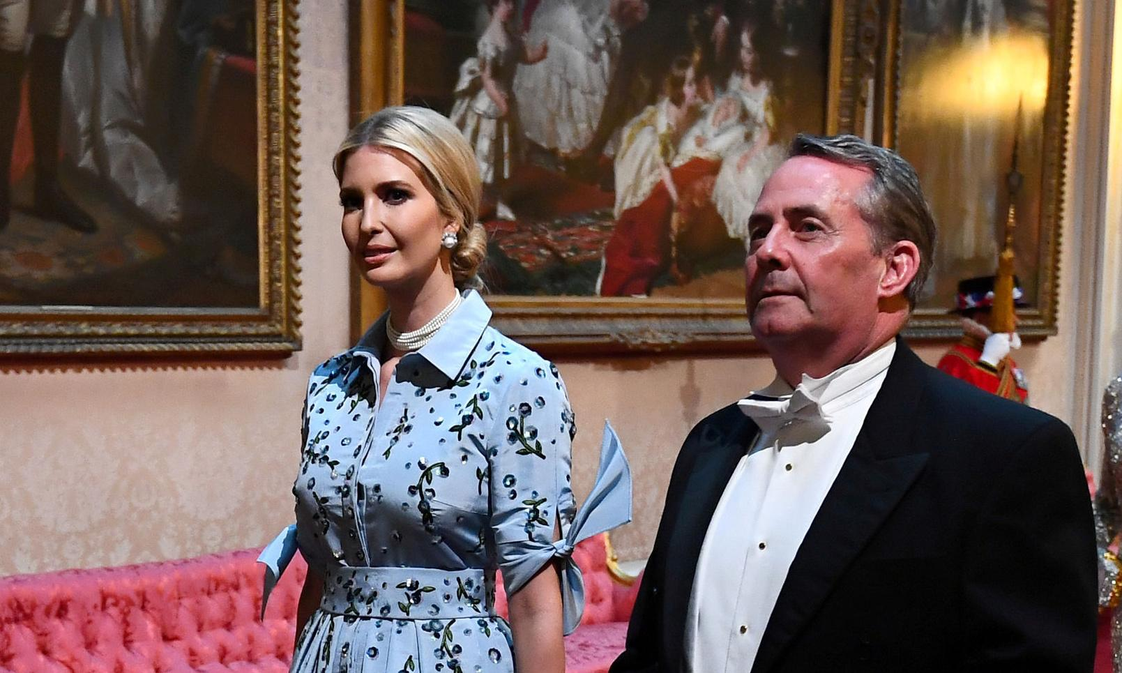 Sorry, but why is Liam Fox apologising to Ivanka Trump?