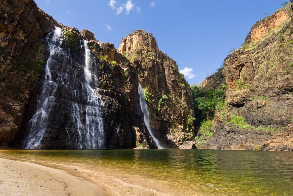 Twin Falls in Kakadu national park