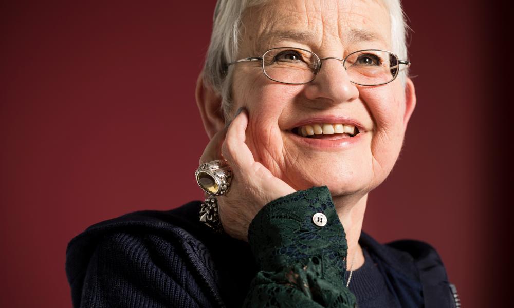 The writer Jacqueline Wilson