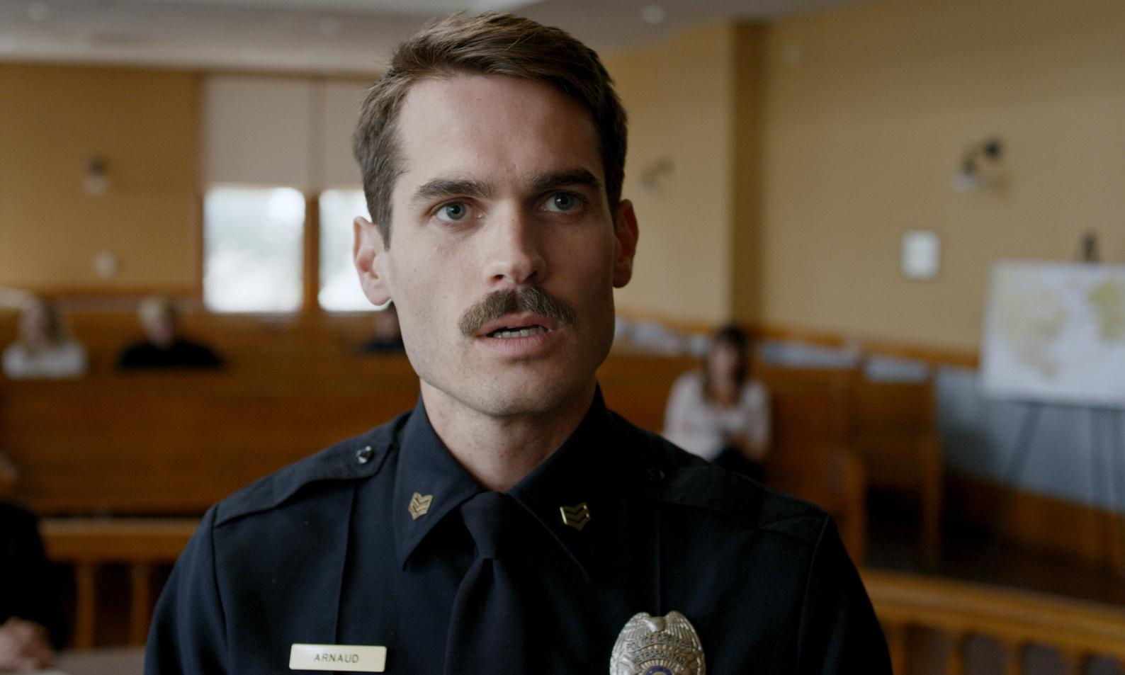 Thunder Road review – bittersweet portrayal of law and disorder