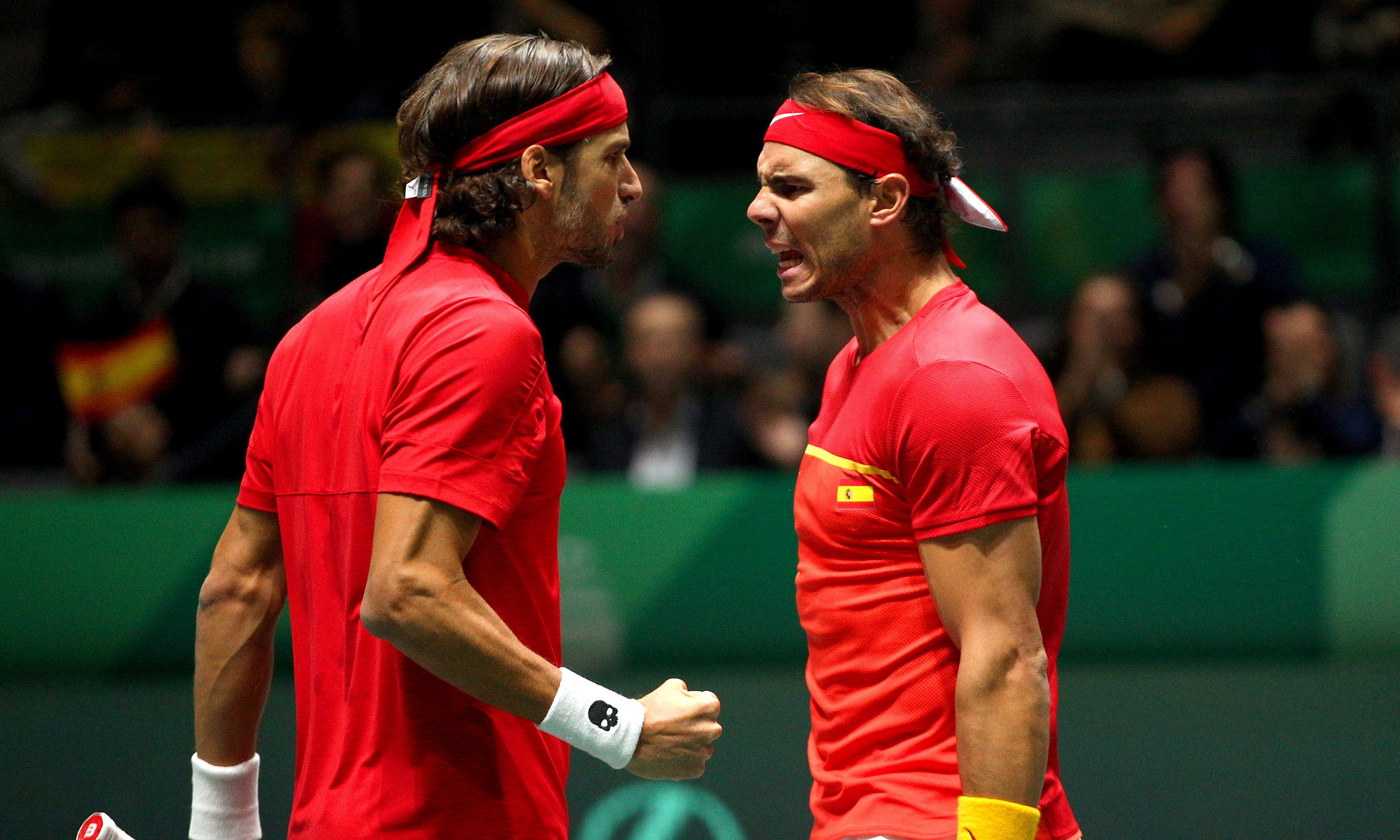Rafael Nadal powers Spain past Great Britain into Davis Cup final