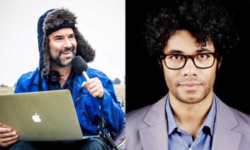 Richard Ayoade in conversation with Adam Buxton