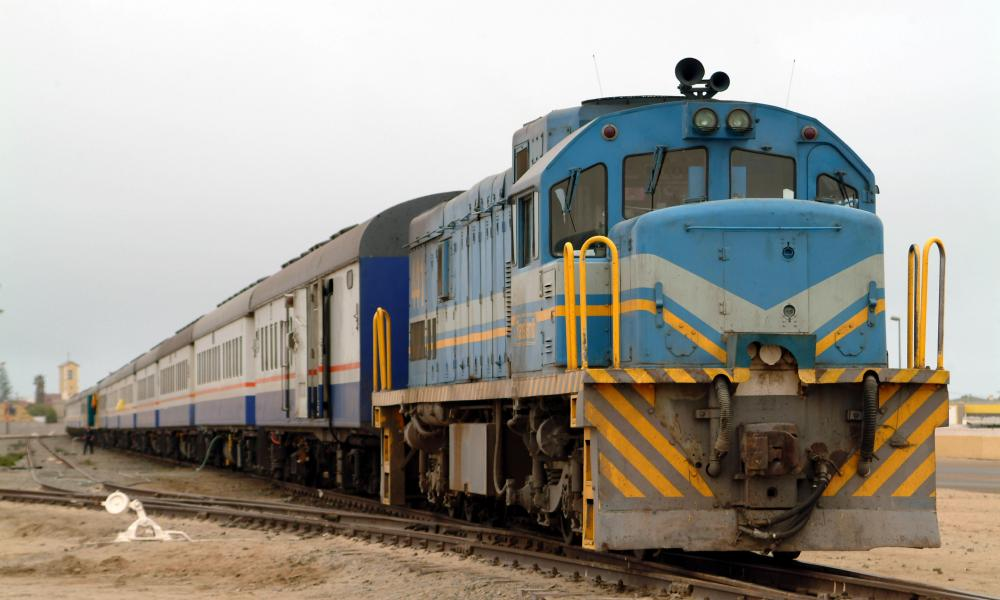 Desert Express Train at Swakopmond Namibia