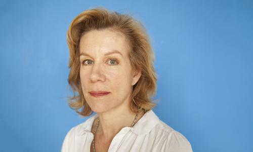Juliet Stevenson, during rehearsals for Golem, London