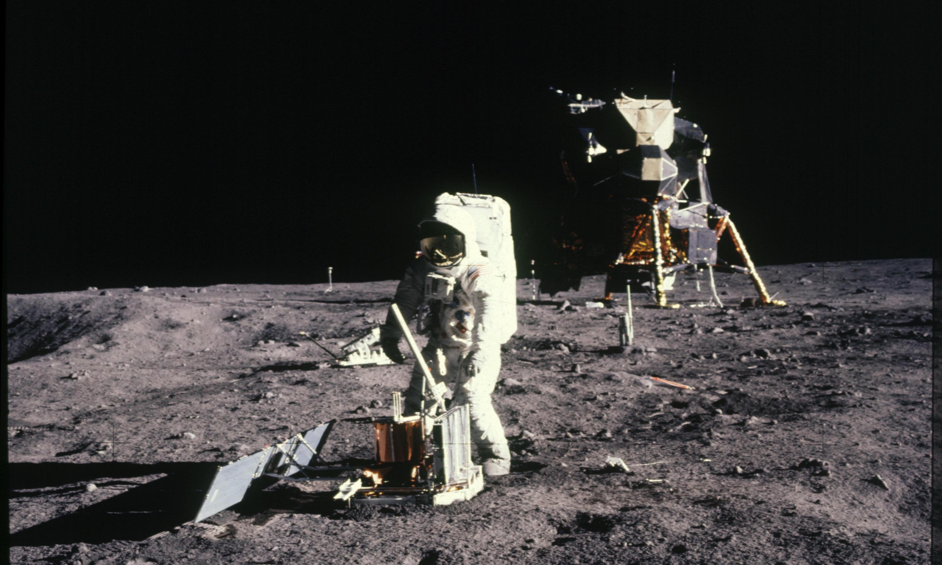 Apollo 11 site should be granted heritage status, says space agency boss