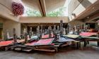 Installation view: Phyllida Barlow: scree, Des Moines Art Center, Des Moines IA, 20 June - 22 September 2013