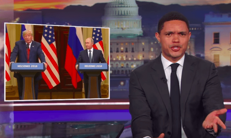 Trevor Noah: 'If your name is Vladimir Putin, this was a very good day'