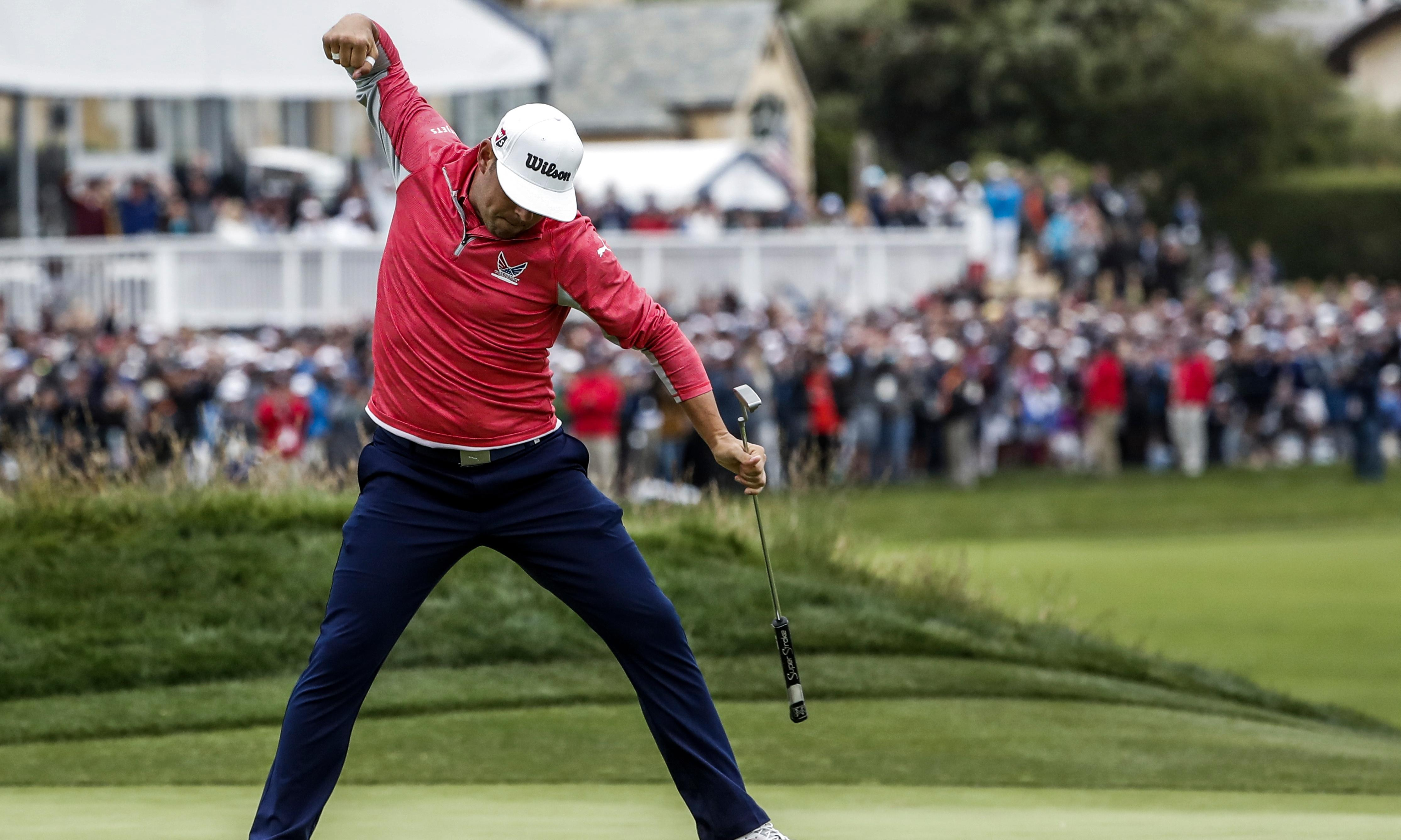 Woodland holds off Rose and Koepka to win US Open