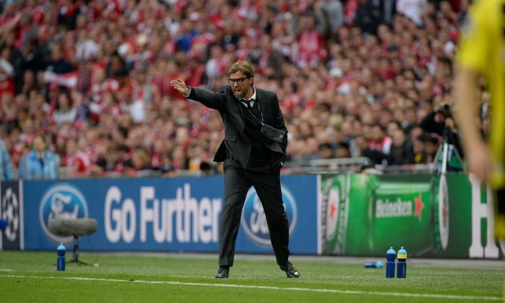 Jürgen Klopp opted for a suit for the Champions League final as Borussia Dortmund manager in 2013.