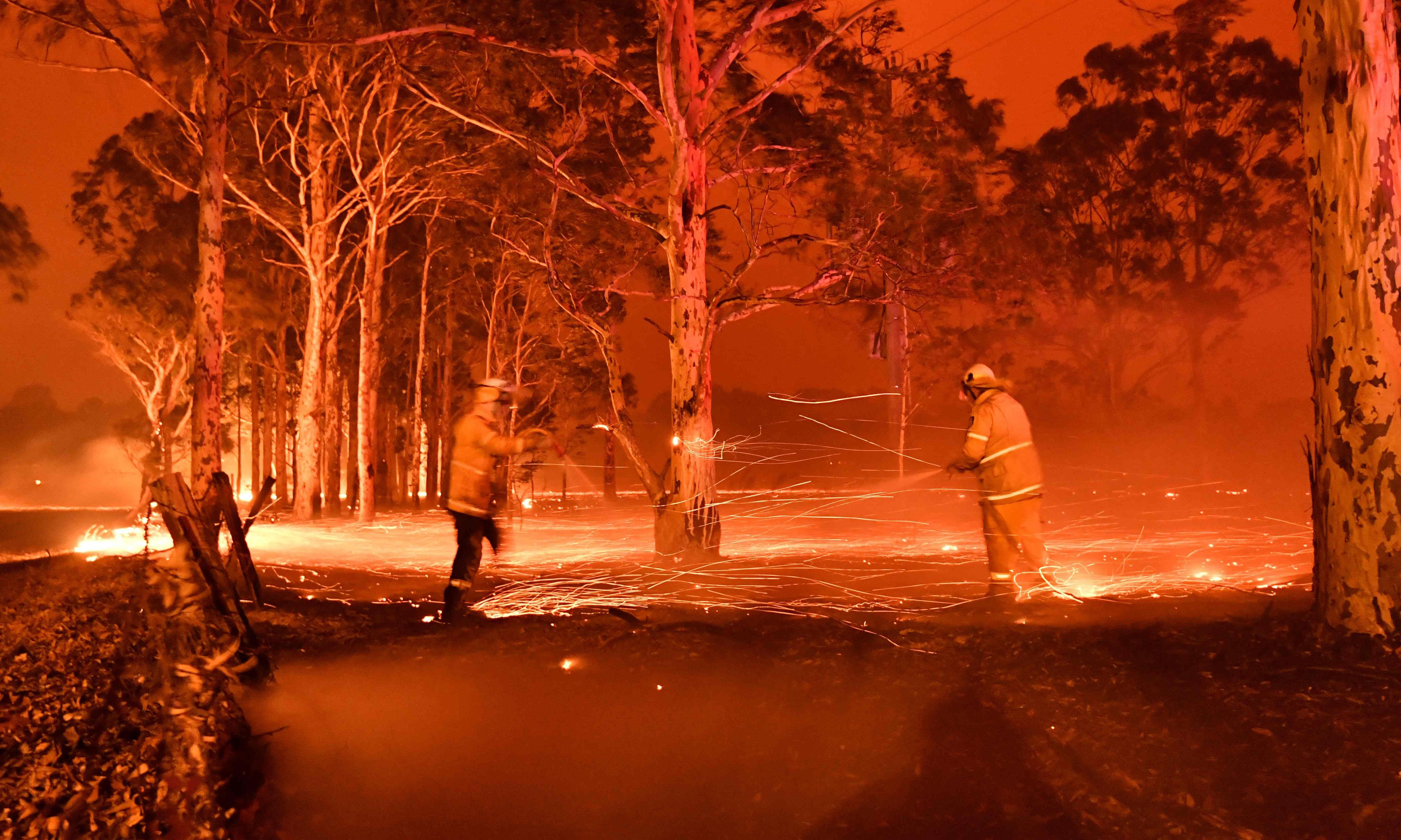 The bushfires are a national catastrophe for the city and country. How are we going to live like this?