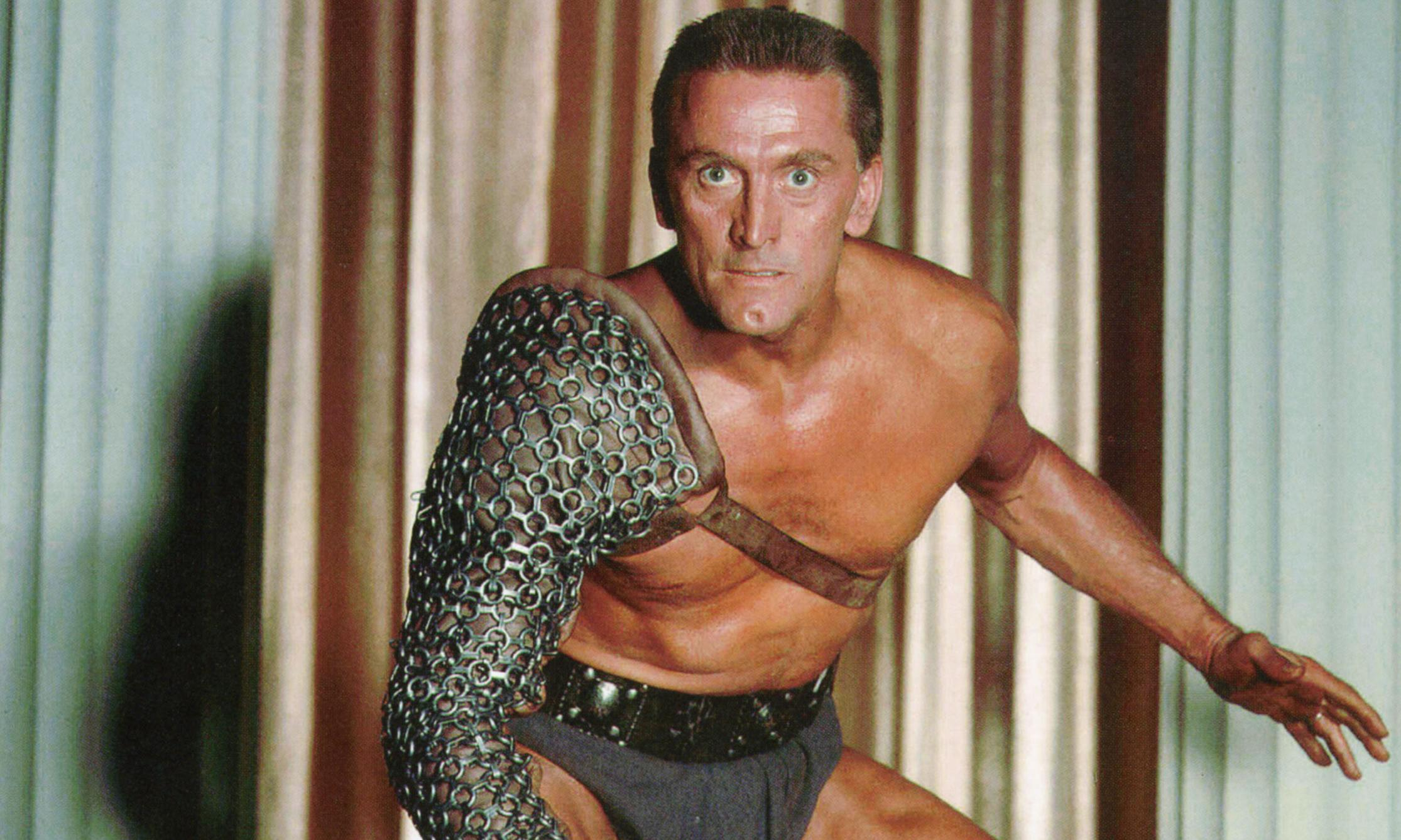 Kirk Douglas, Hollywood legend and star of Spartacus, dies aged 103
