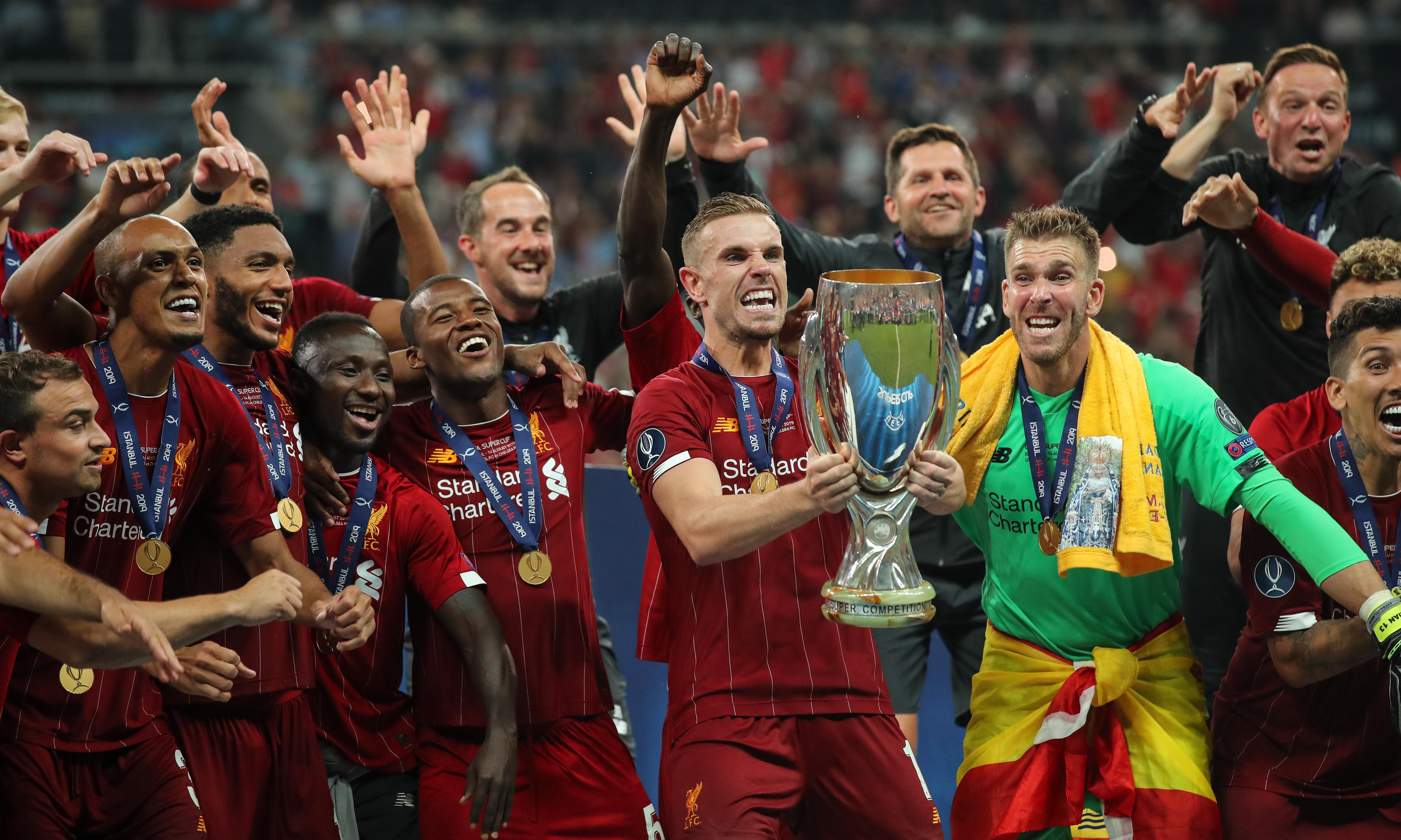 Liverpool sink Chelsea to lift Super Cup thanks to Adrián shootout save