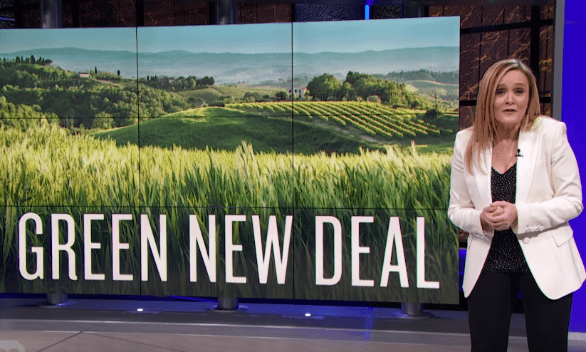 Samantha Bee: Fox News 'soiling themselves over the Green New Deal'