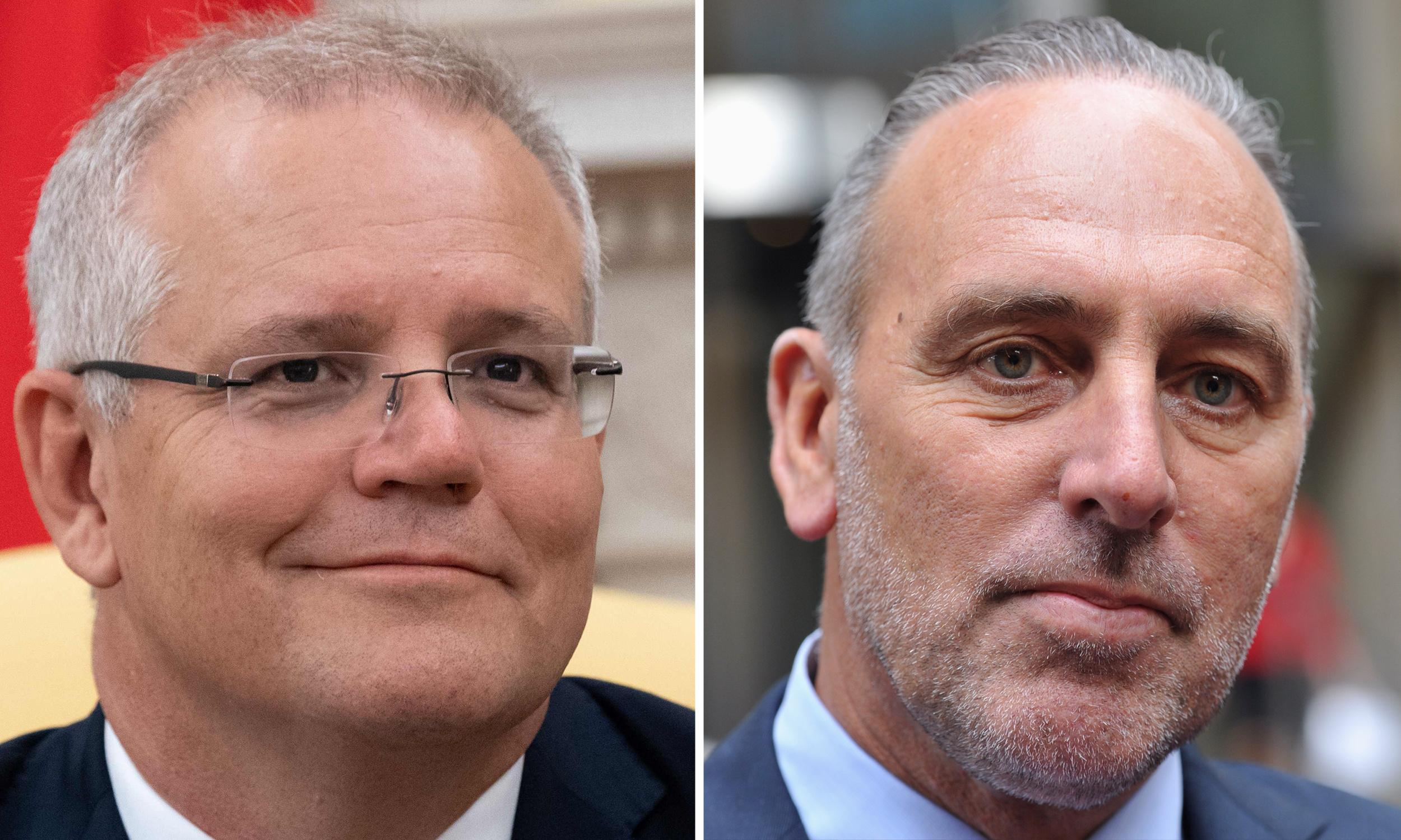 Scott Morrison refuses to say if he wanted Hillsong's Brian Houston invited to White House